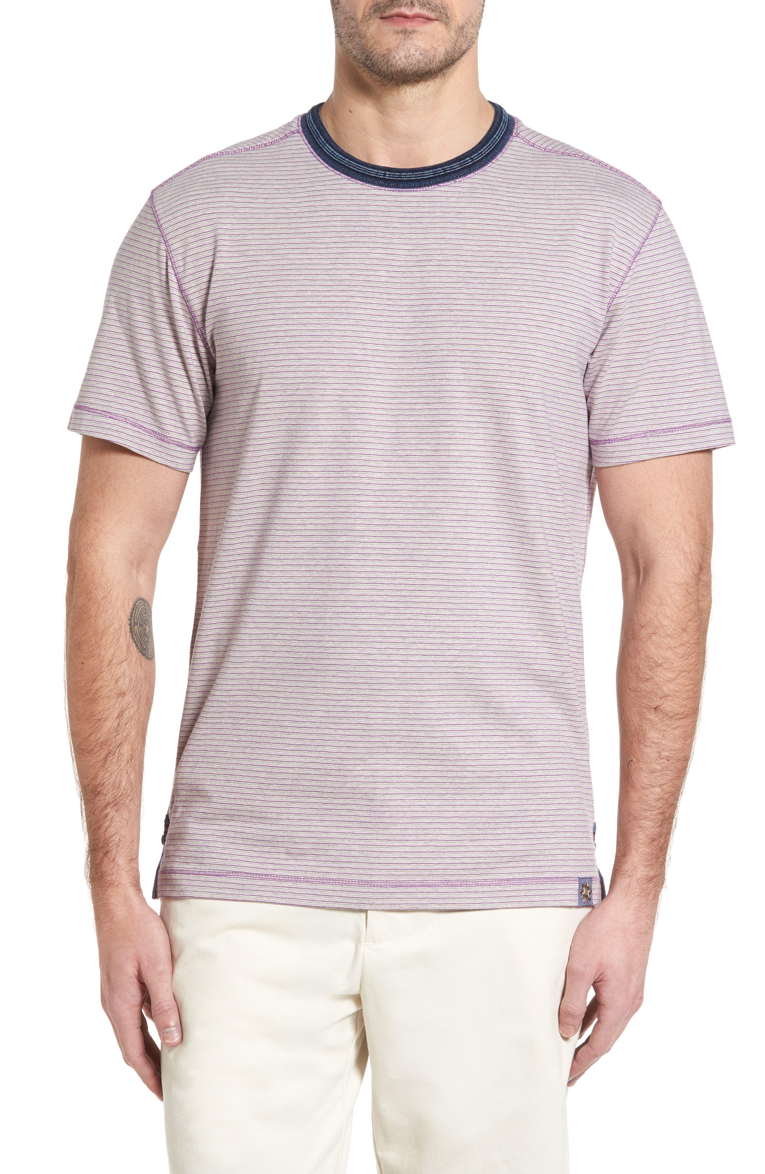 Main Image - Thaddeus Strong Stripe T-Shirt