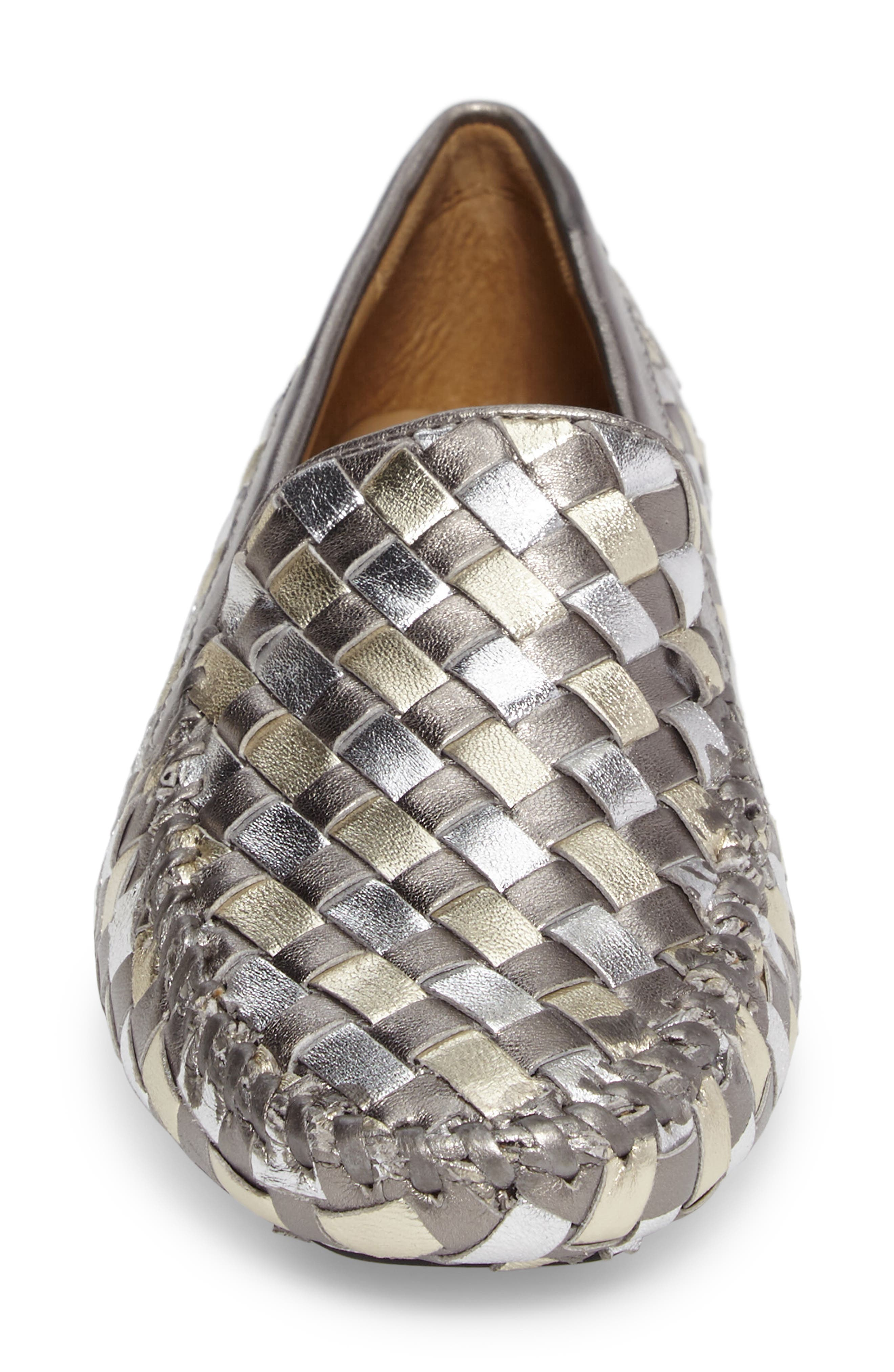 Alternate Image 4  - Robert Zur Woven Venetian Loafer (Women)
