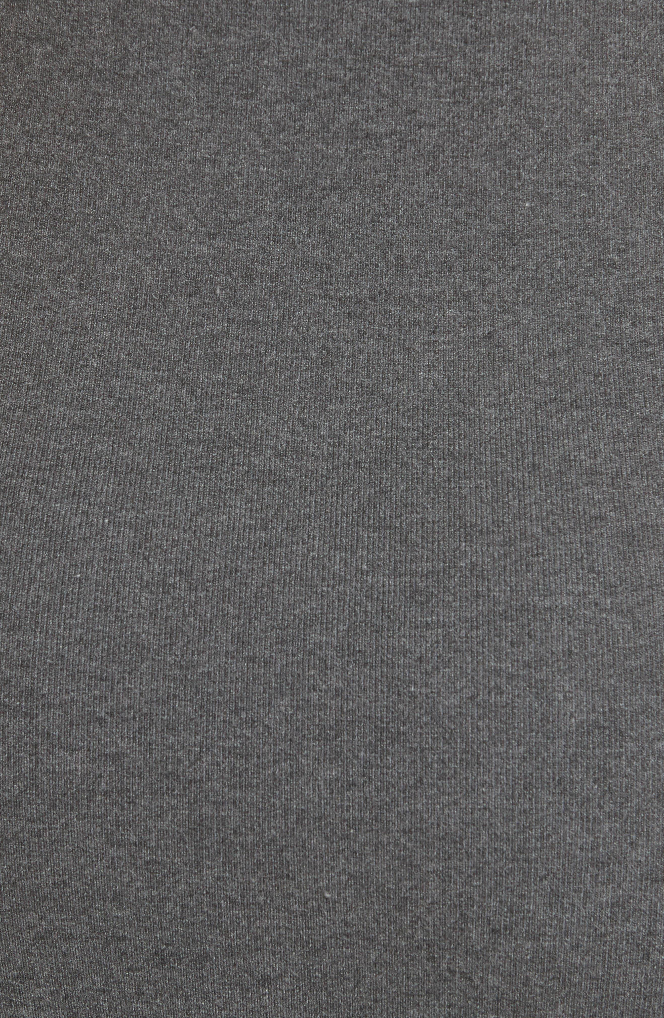 Alternate Image 5  - Milly Hooded Jersey Midi Dress