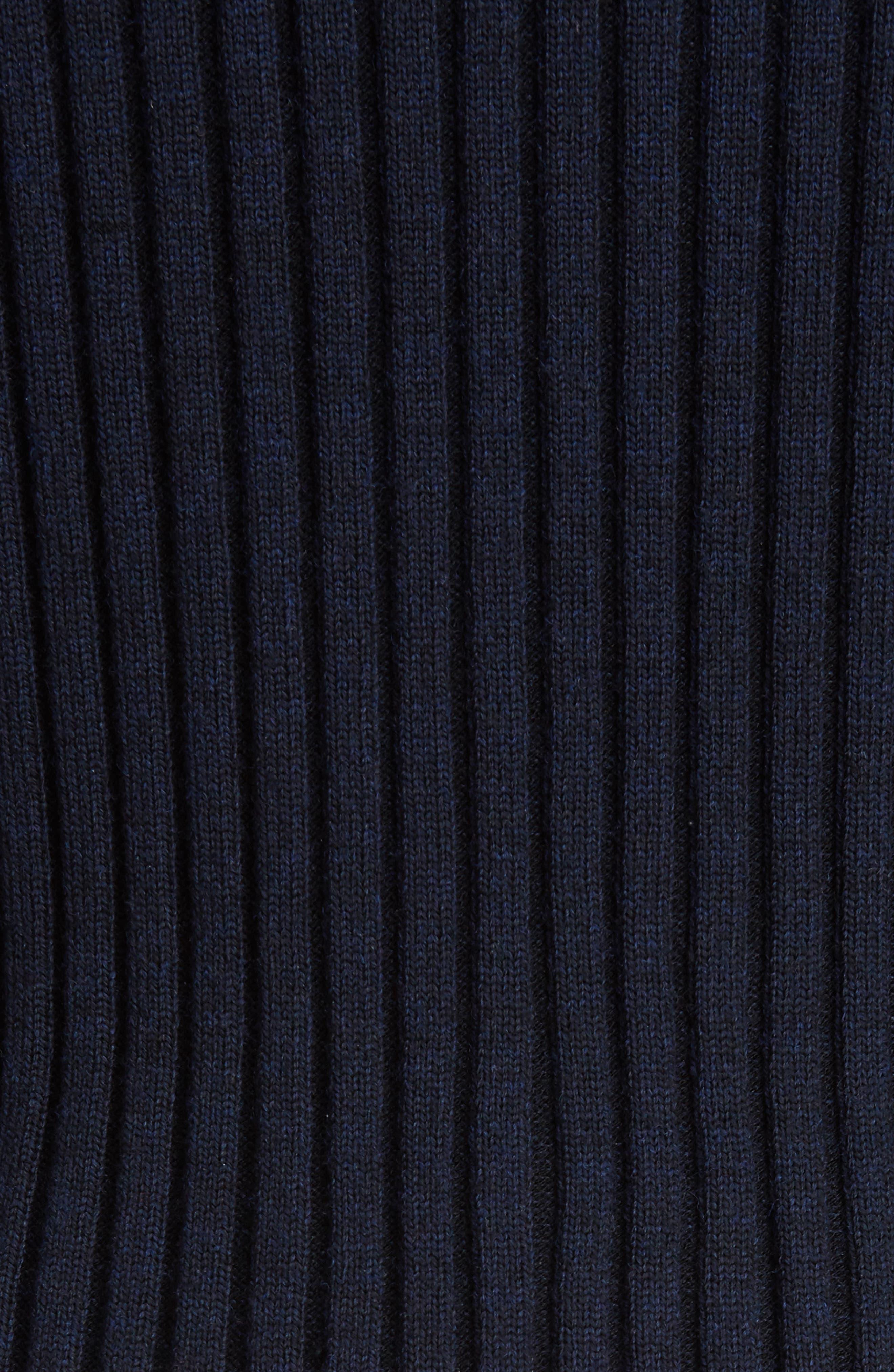 Alternate Image 6  - KENZO Knit Overlay Cotton Blouse