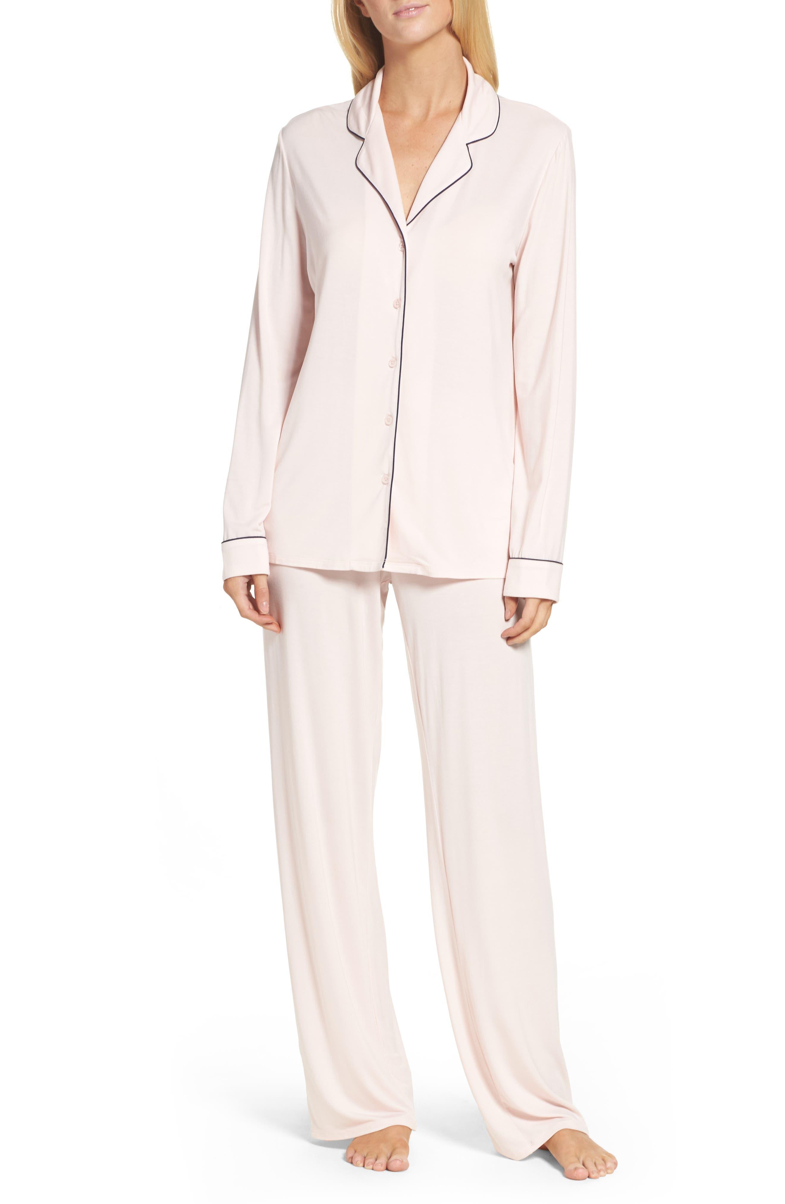 Moonlight Pajamas,                             Main thumbnail 1, color,                             Pink Crystal