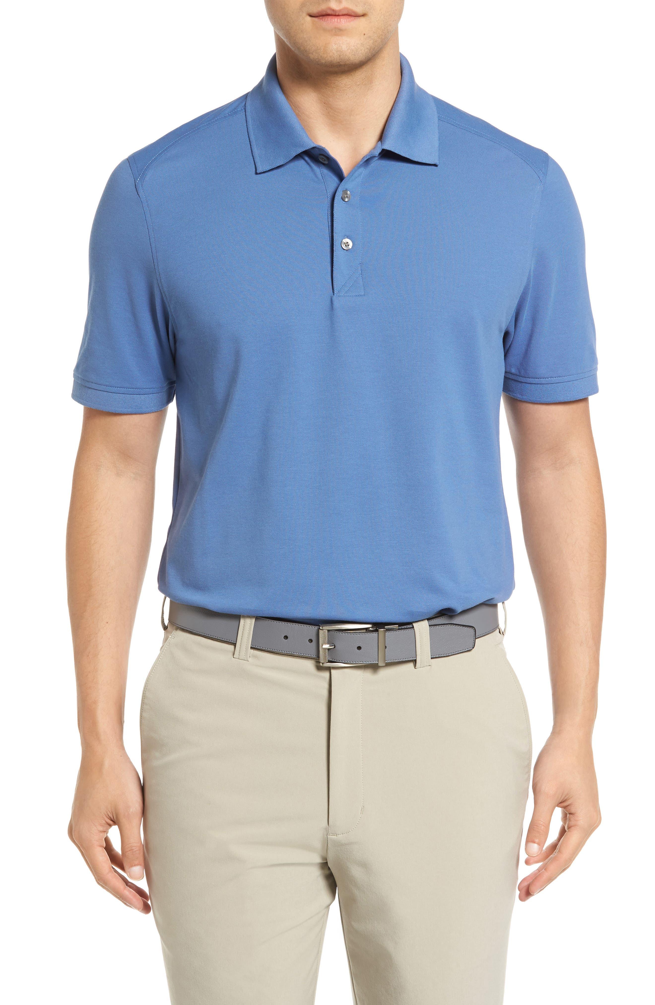 Advantage Golf Polo,                         Main,                         color, Sea Blue