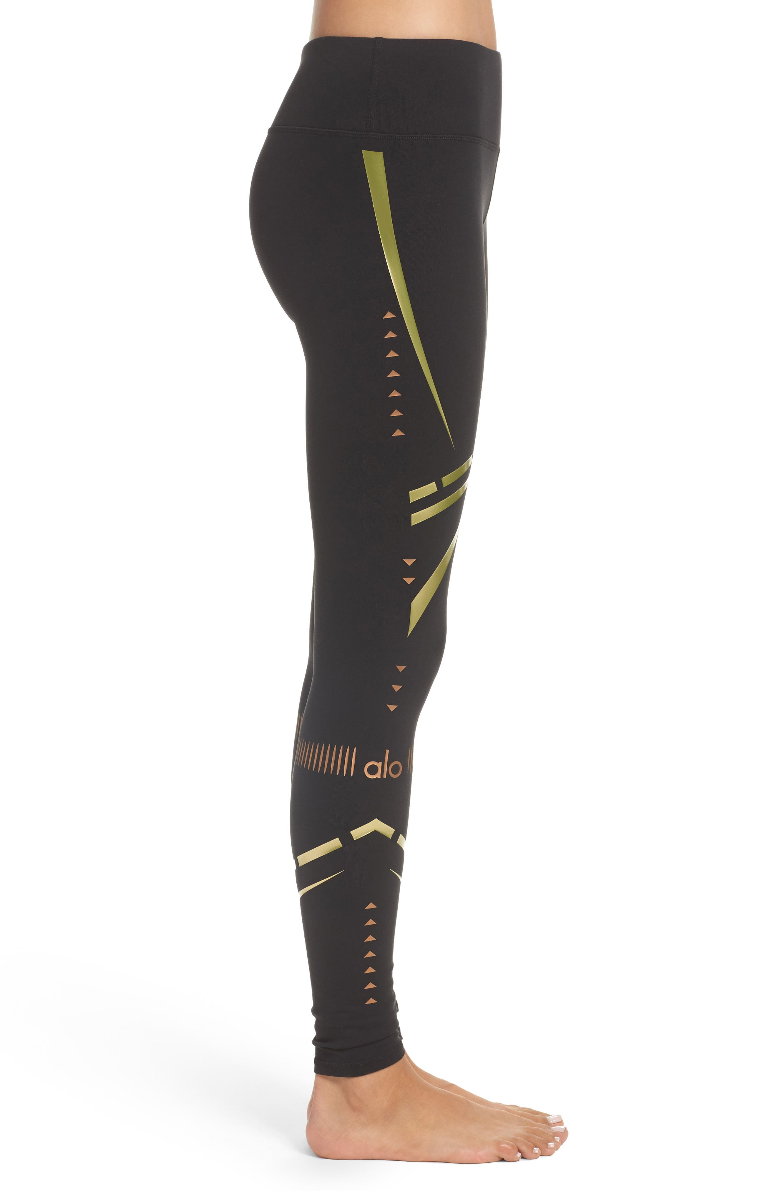 Alternate Image 3  - Alo 'Airbrushed' Leggings