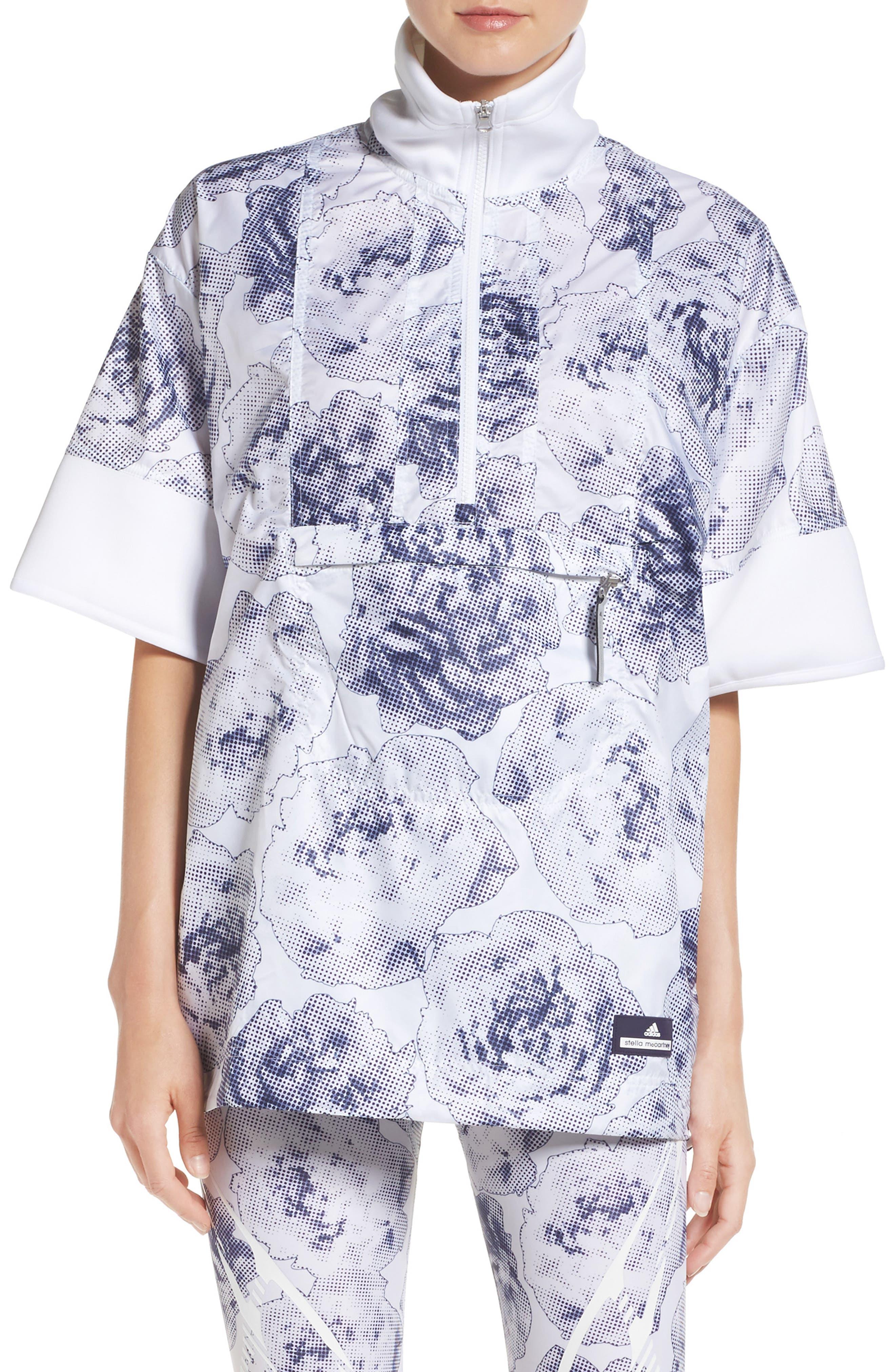 adidas by Stella McCartney Run Floral Pullover