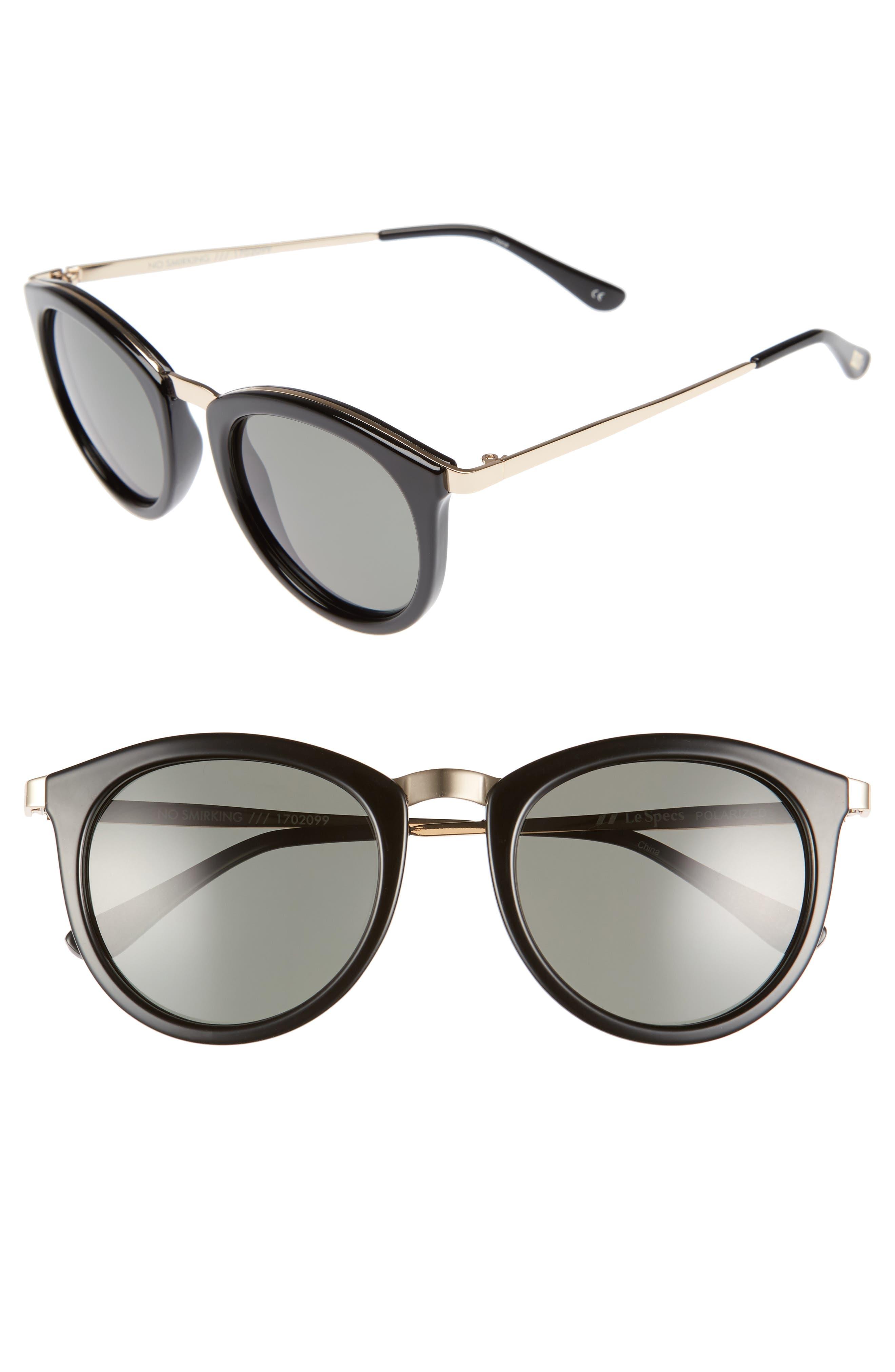 Alternate Image 1 Selected - Le Specs No Smirking 51mm Polarized Sunglasses