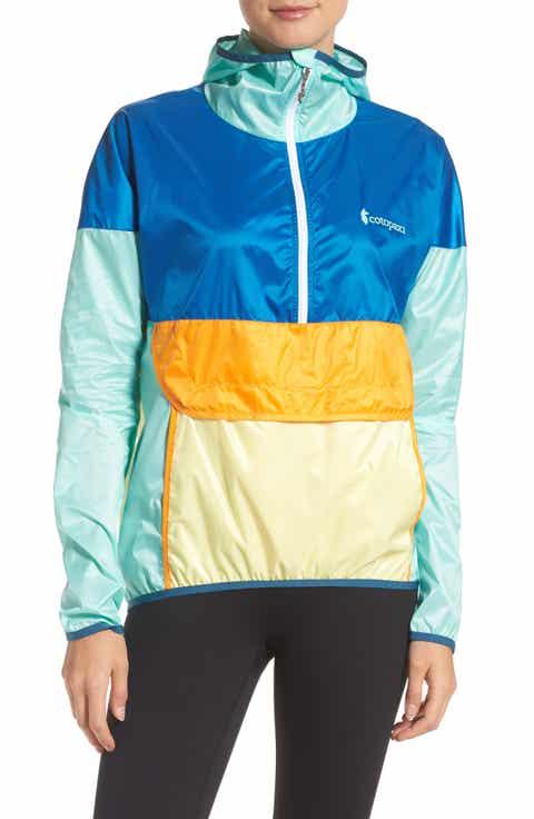 Cotopaxi Teca Packable Water Resistant Windbreaker Jacket