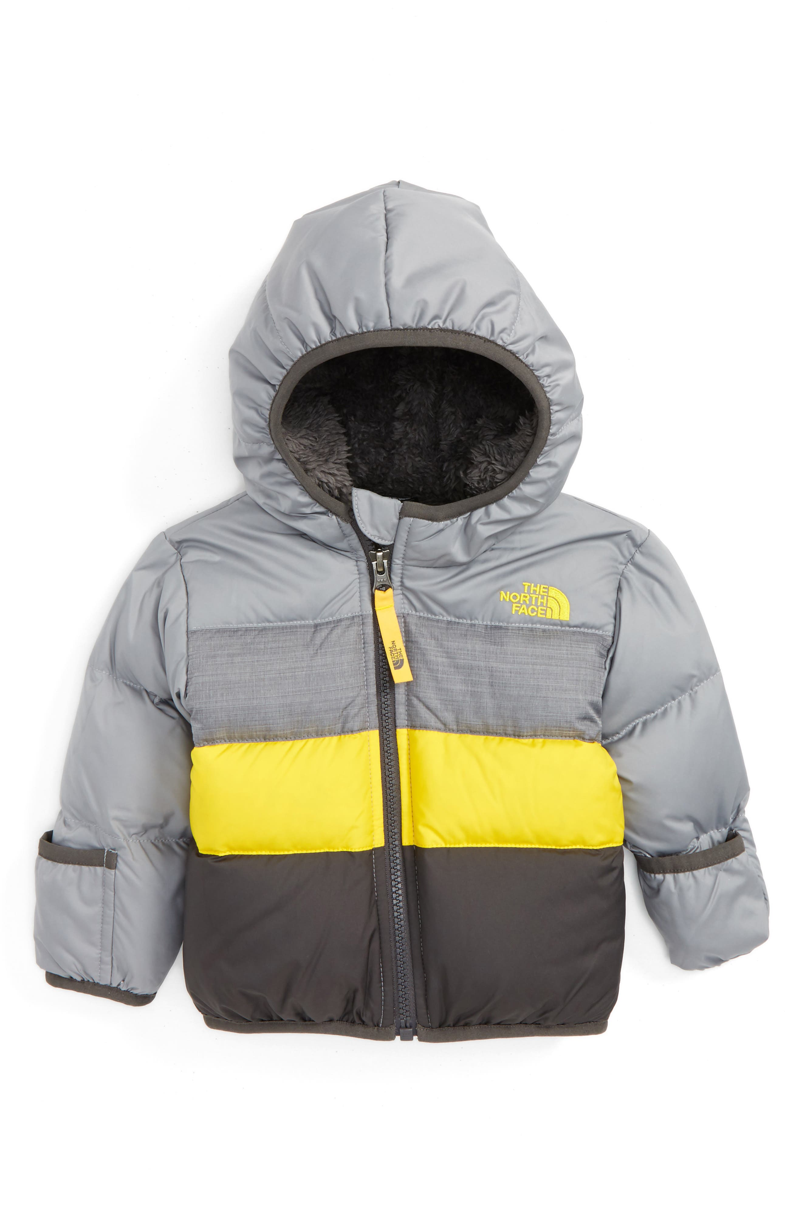 The North Face 'Moondoggy' Reversible Down Jacket (Baby Boys)