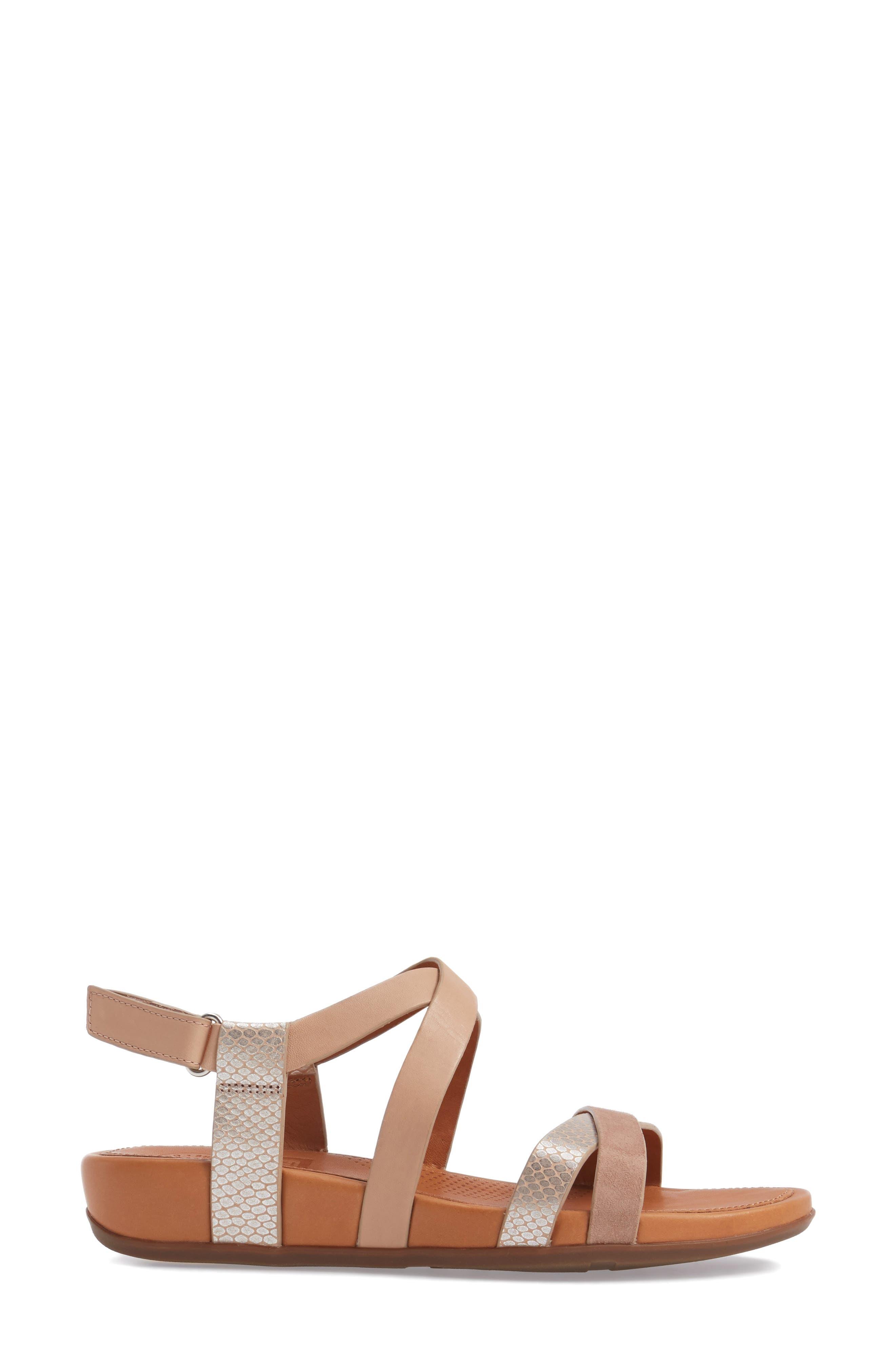 Alternate Image 3  - FitFlop Lumy Crisscross Sandal (Women)