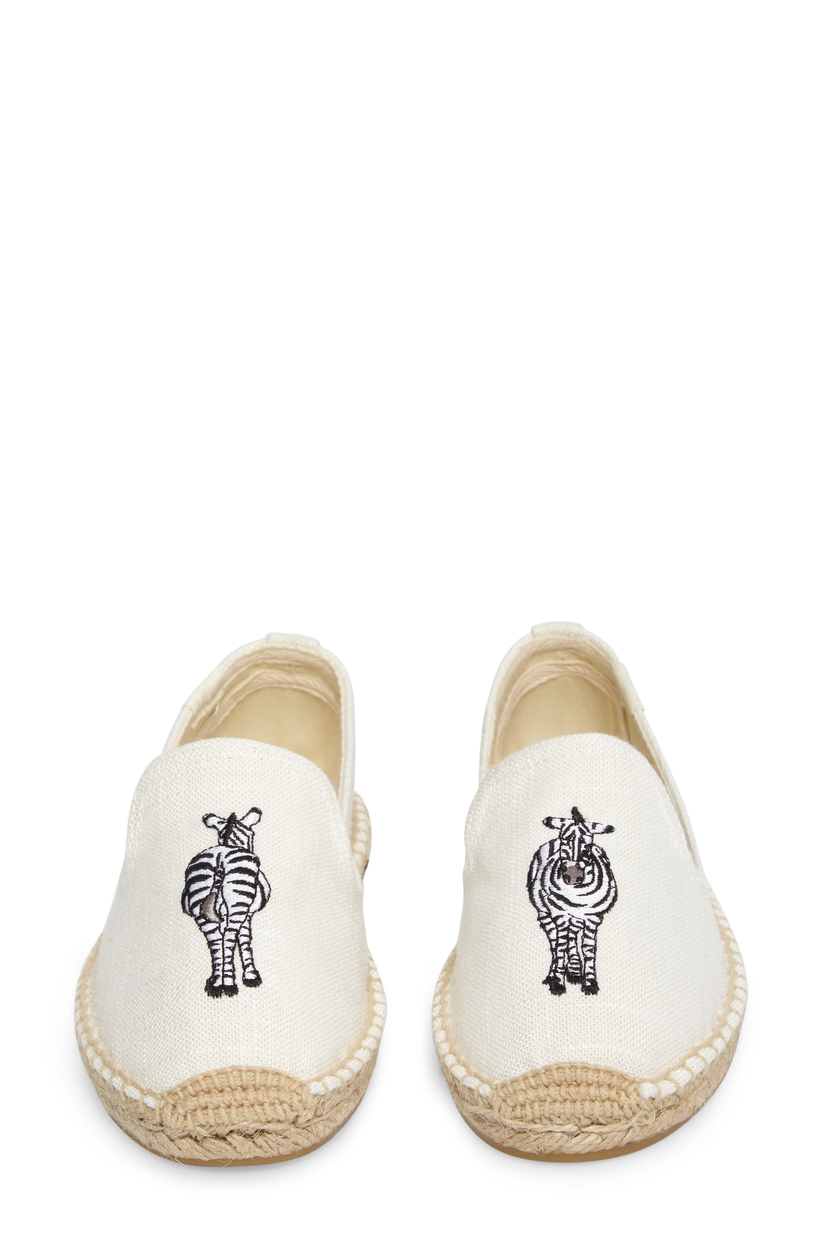 Alternate Image 5  - Soludos Embroidered Espadrille Slip-On (Women)