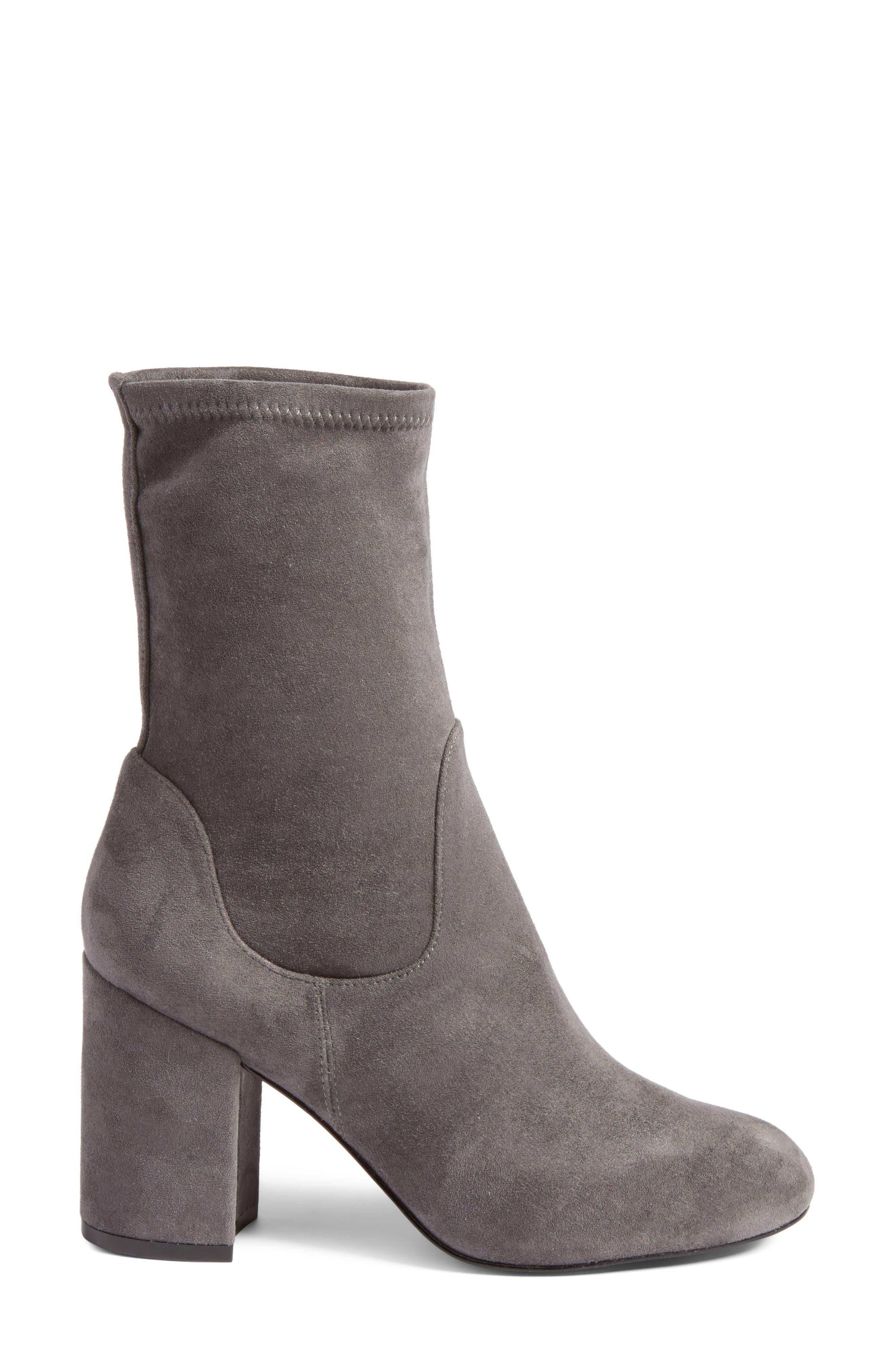 Alternate Image 3  - Halogen® Jacy Stretch Sock Bootie (Women)