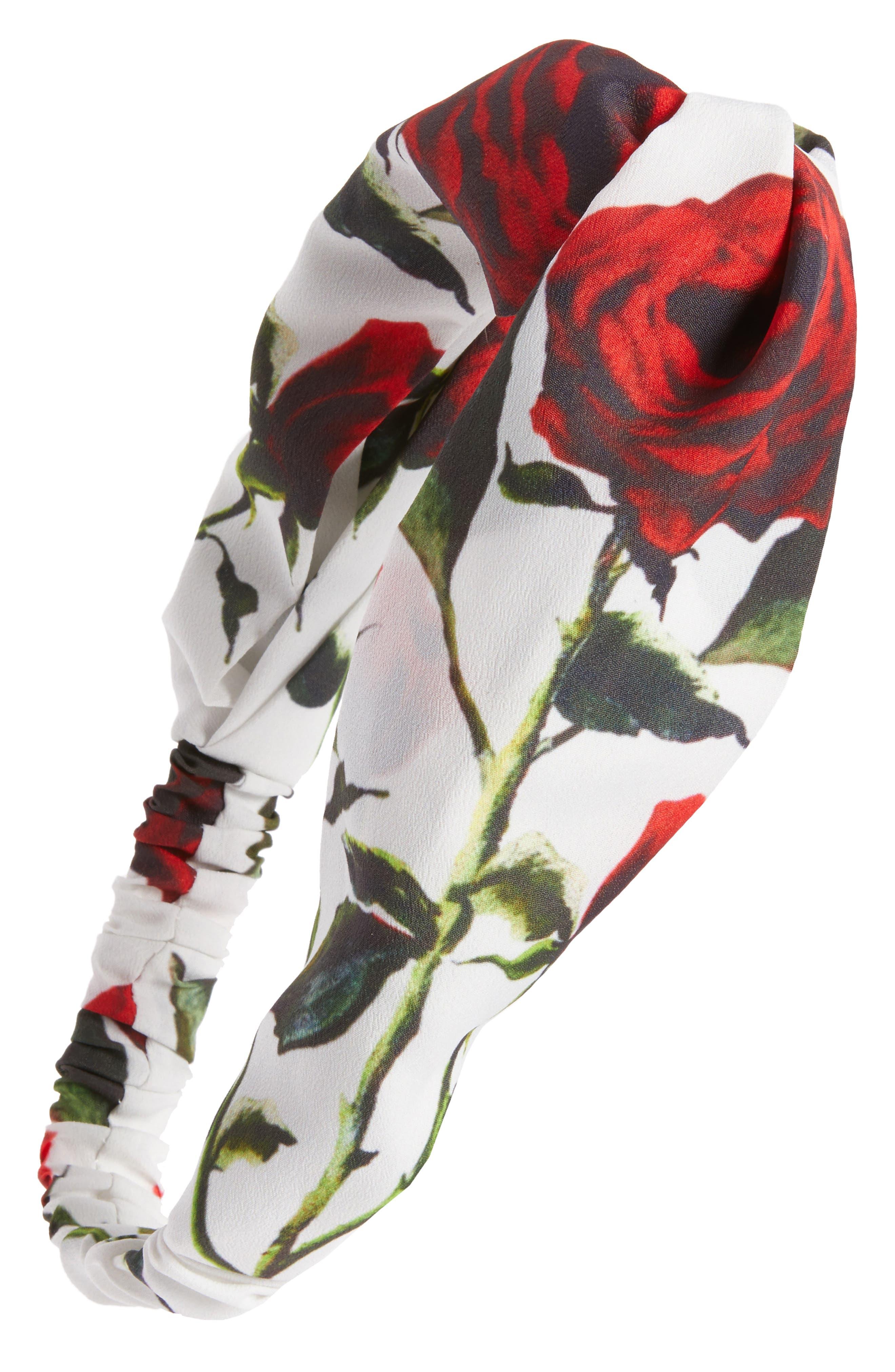 Main Image - Cara Rose Garden Head Wrap