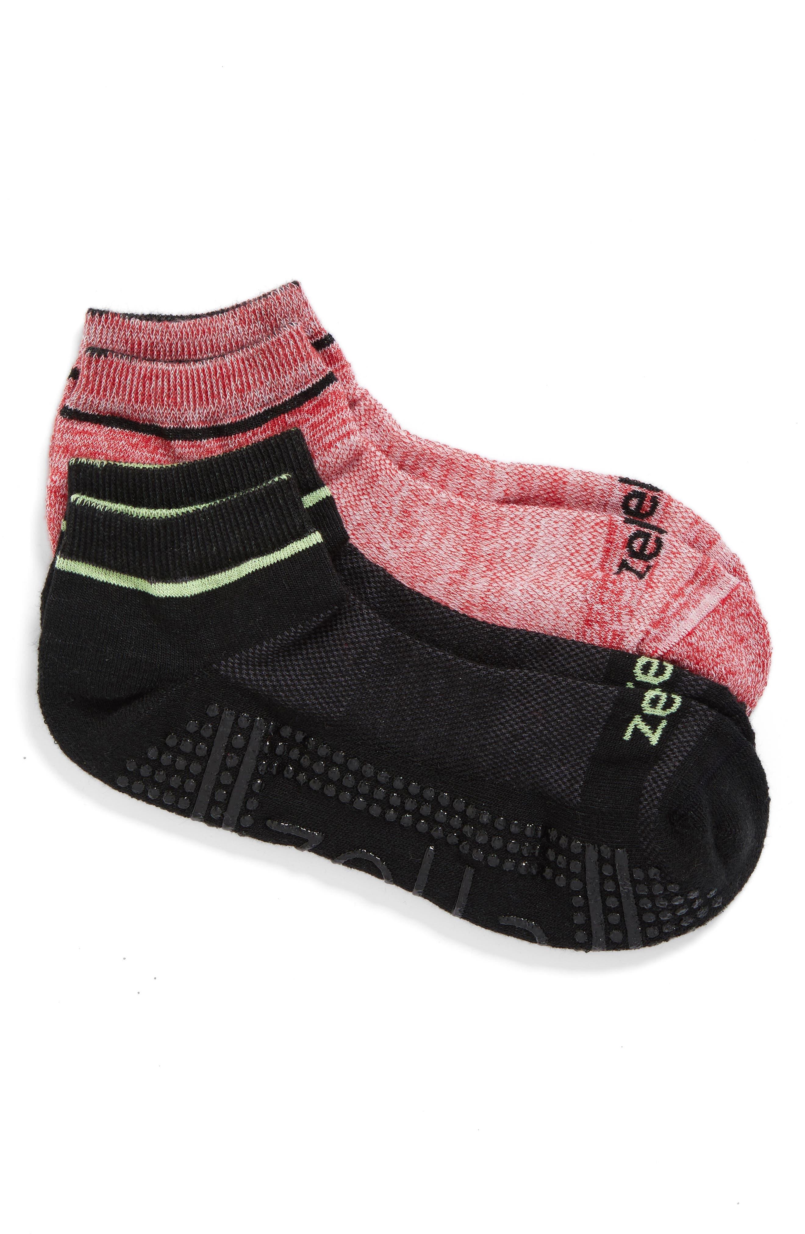 Main Image - Zella 2-Pack Barre Socks