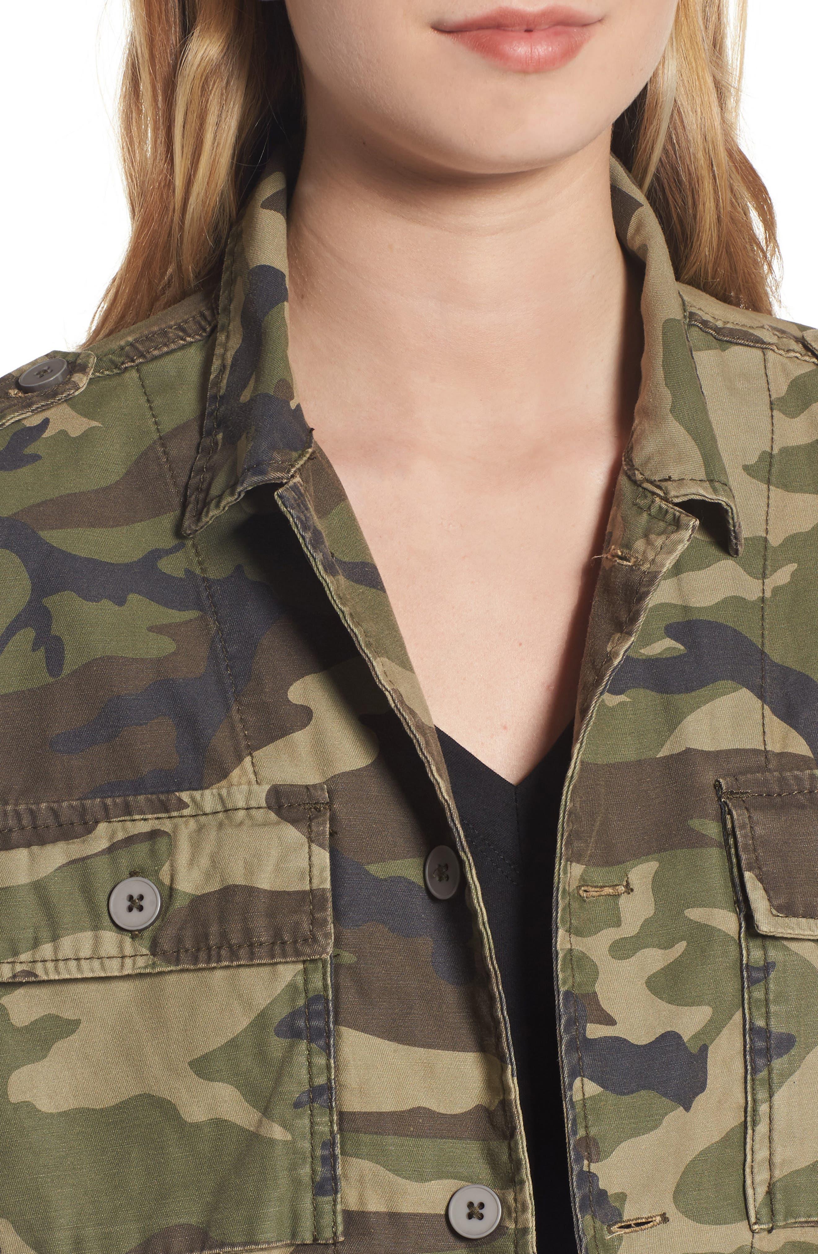 Alternate Image 4  - Thread & Supply Barton Camo Print Jacket
