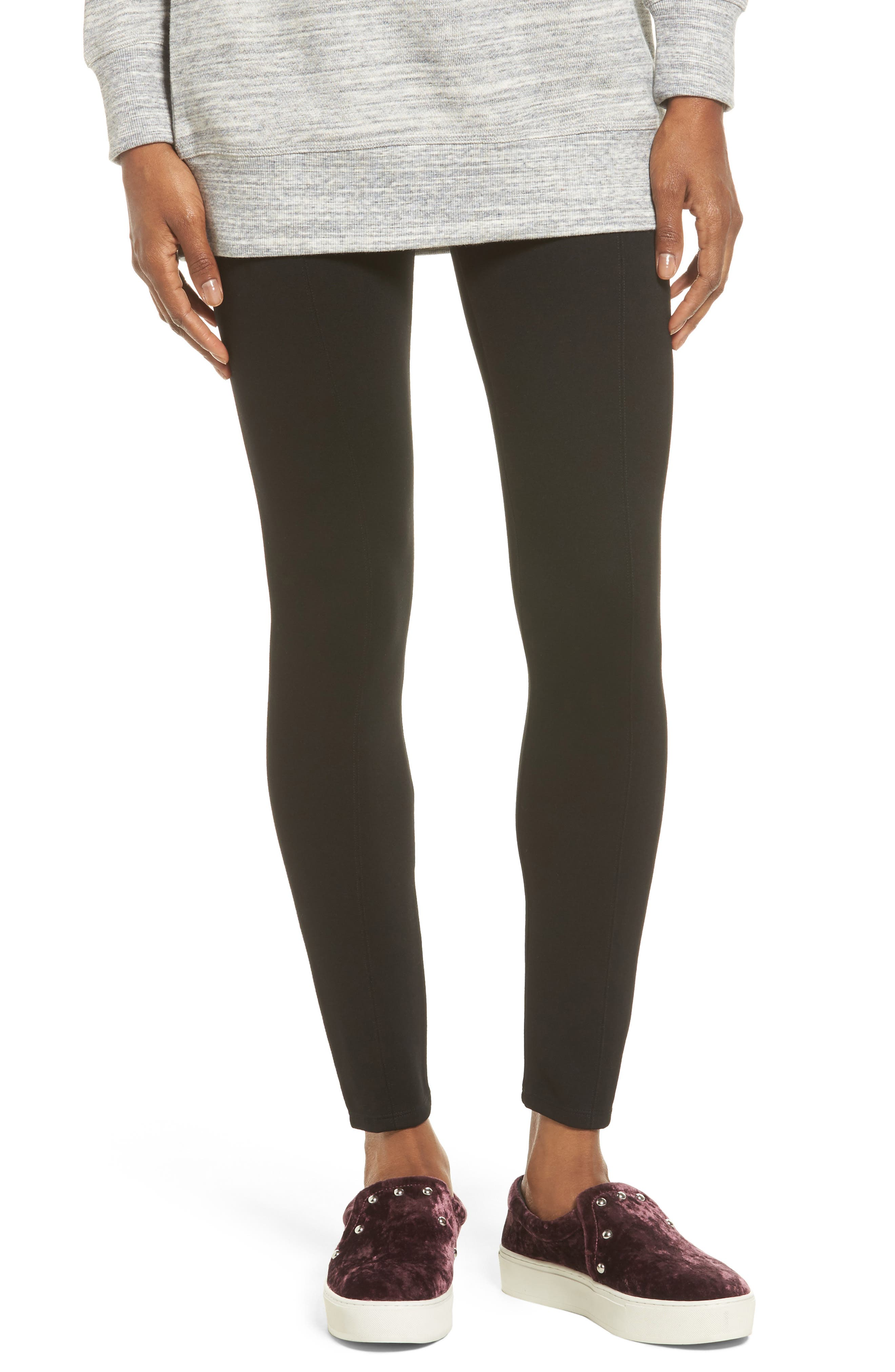 Main Image - Lyssé High Waist Seamed Leggings