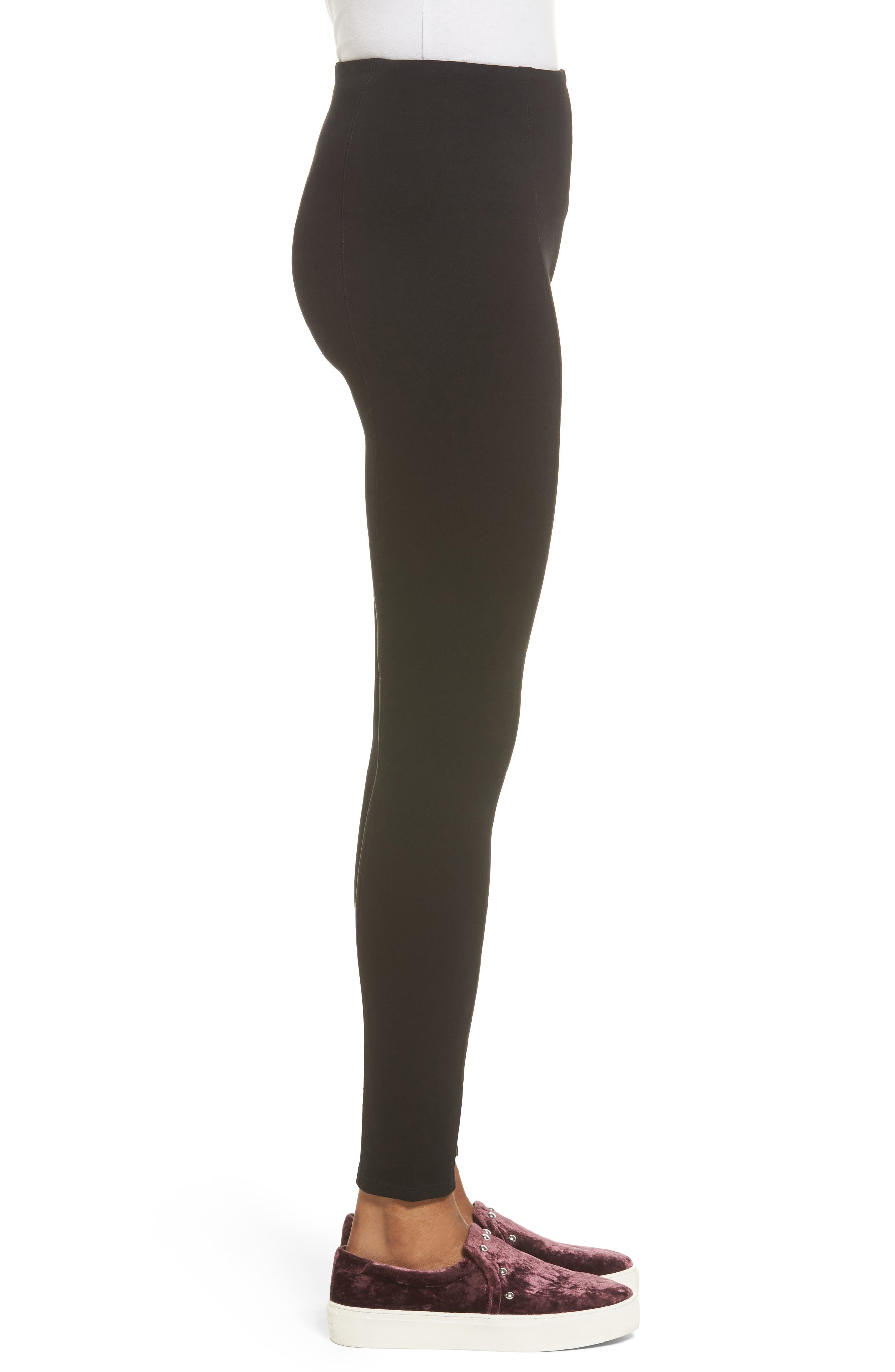 Alternate Image 3  - Lyssé High Waist Seamed Leggings