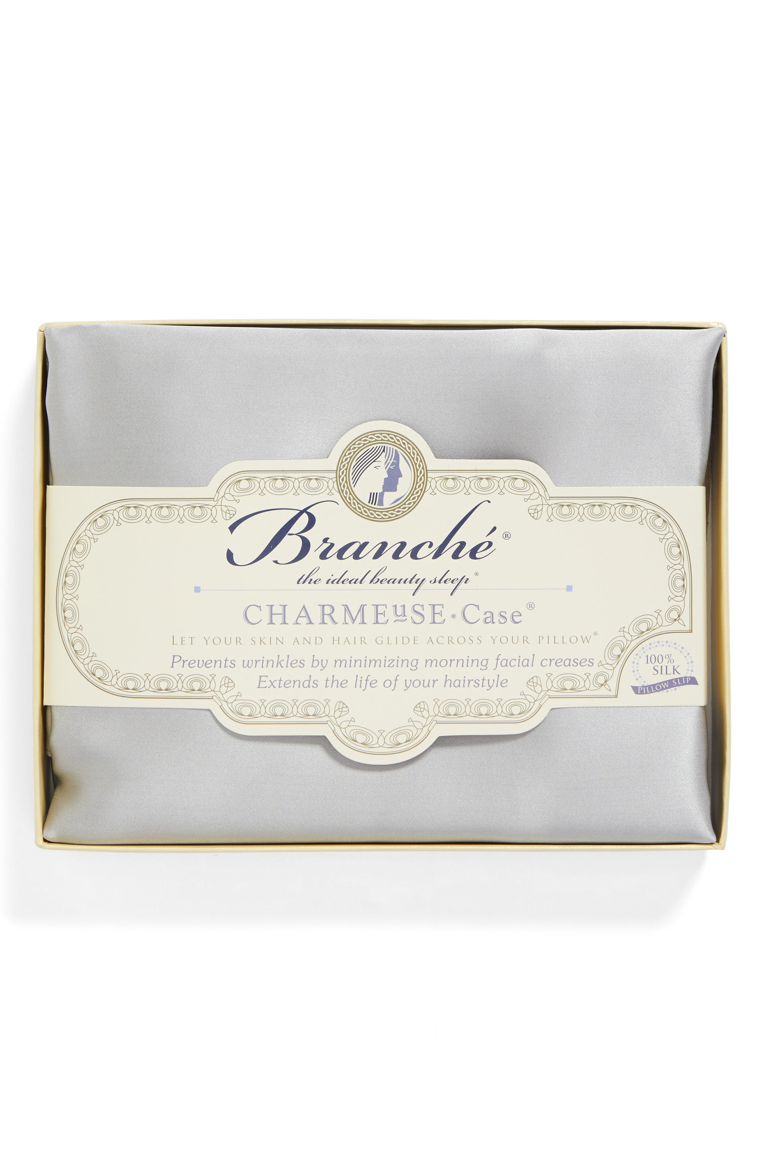 Alternate Image 2  - Branché Beauty Silk Charmeuse Pillowcase