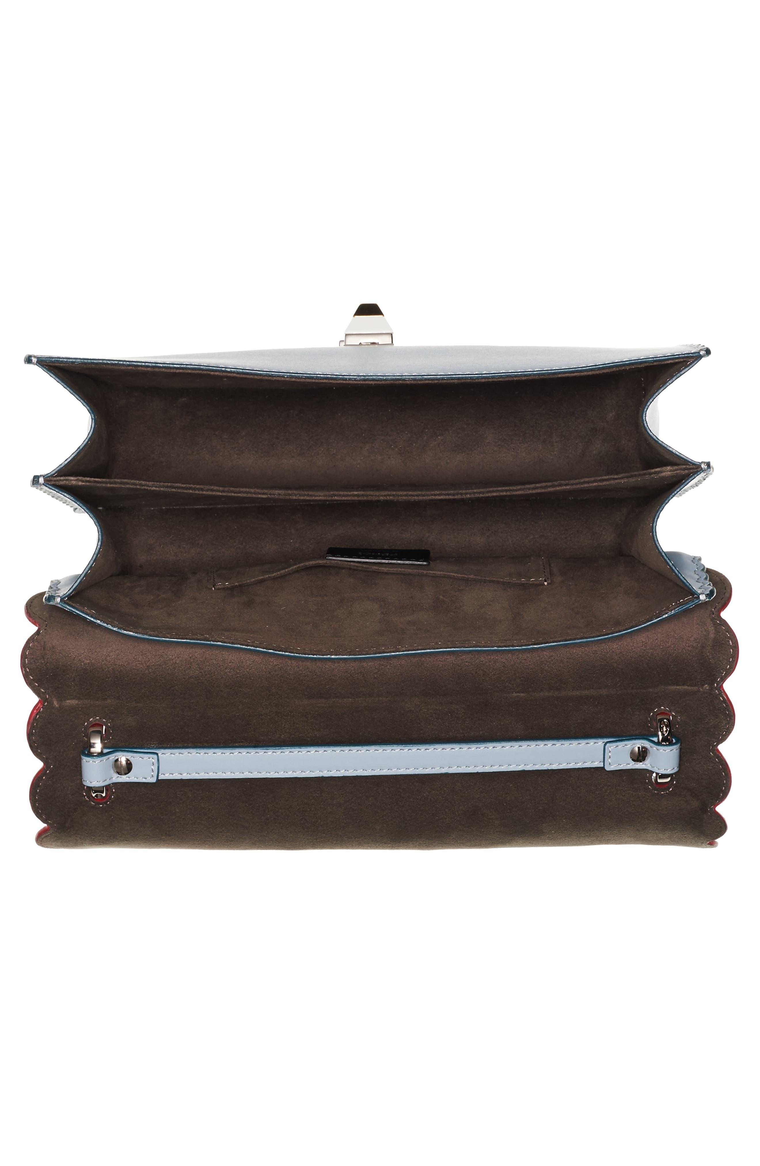 Alternate Image 4  - Fendi Kan I Liberty Leather Shoulder Bag