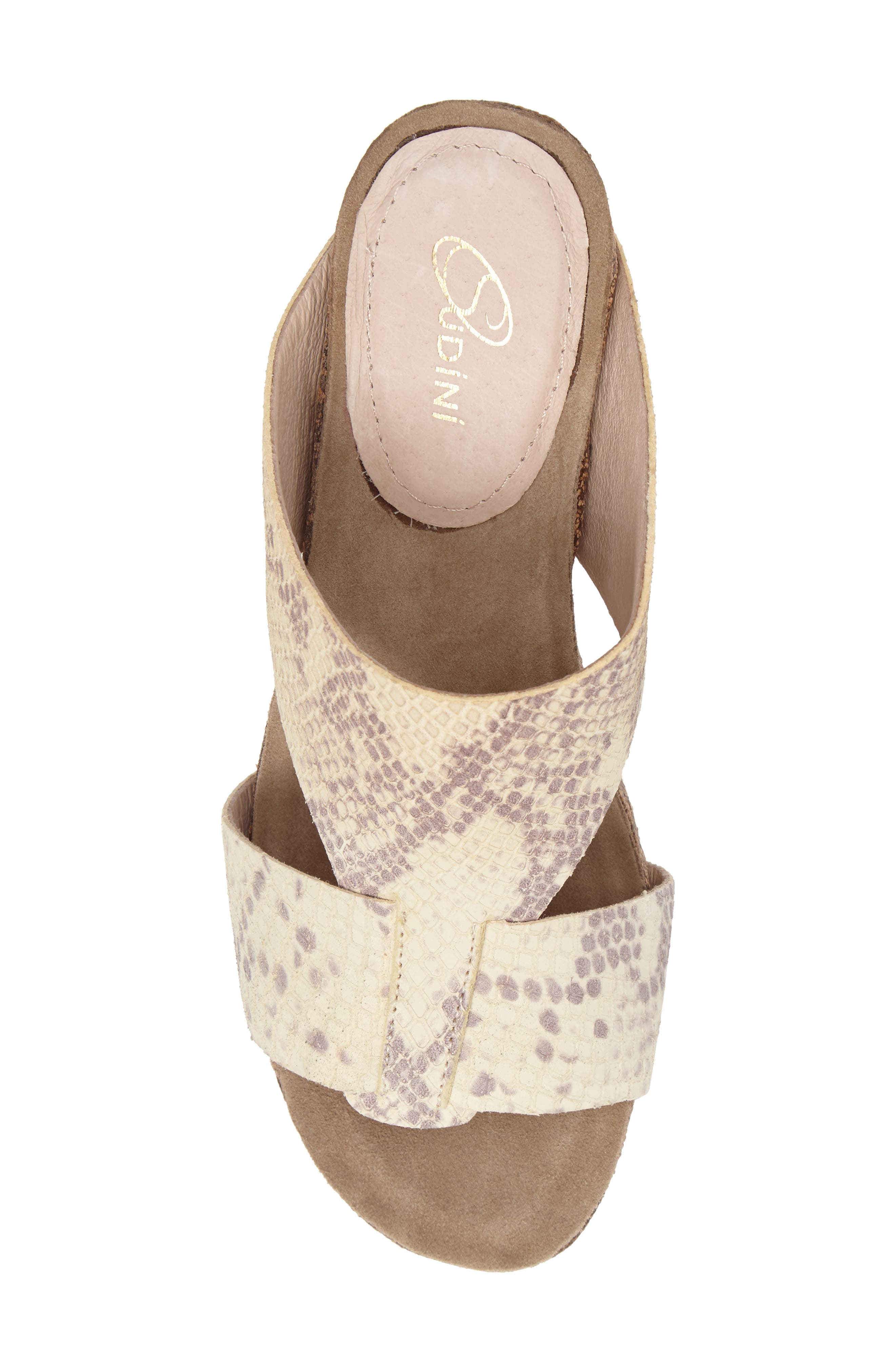 Alternate Image 5  - Sudini Berta Wedge Sandal (Women)