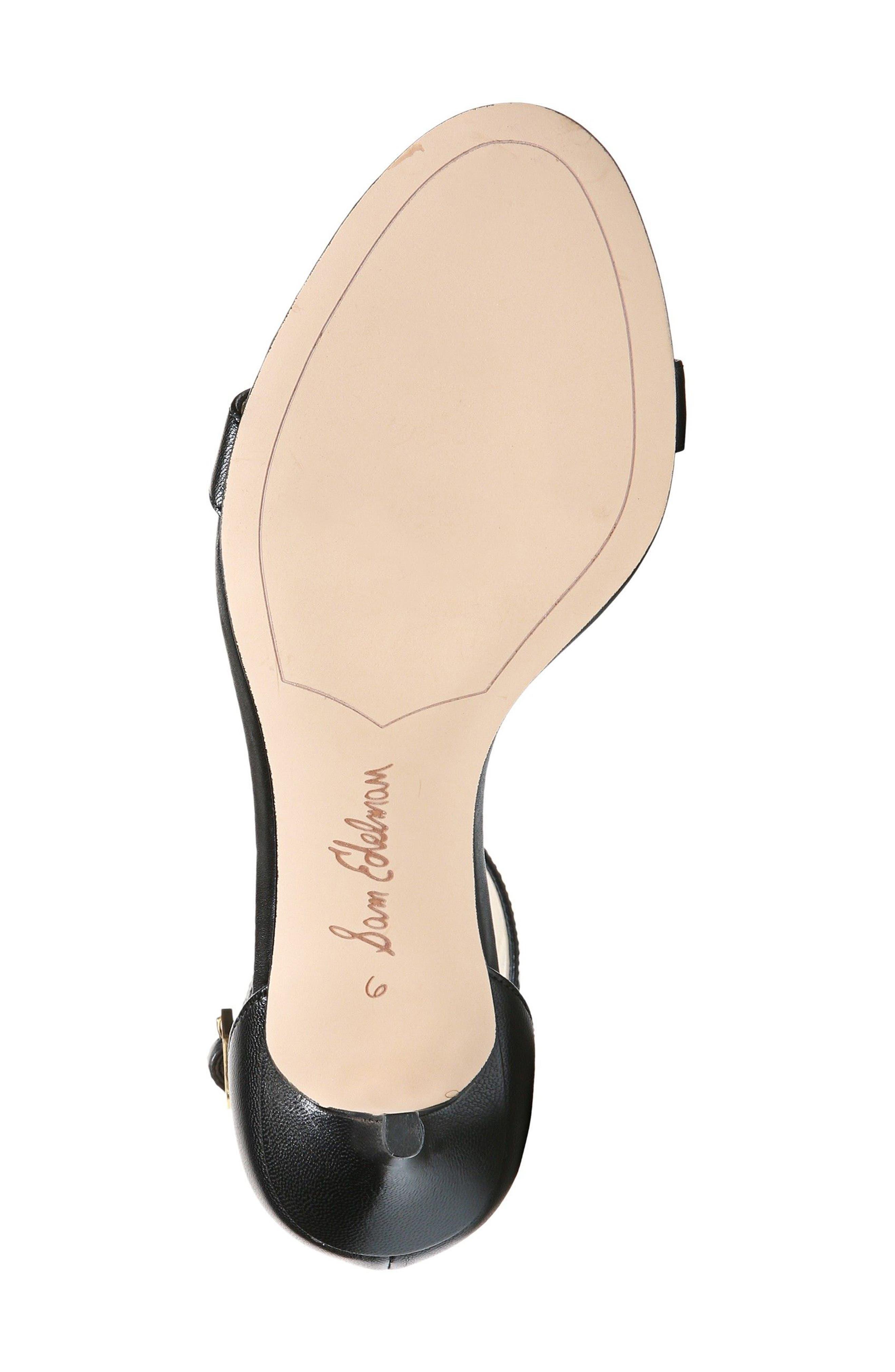 Alternate Image 7  - Sam Edelman 'Patti' Ankle Strap Sandal (Women)