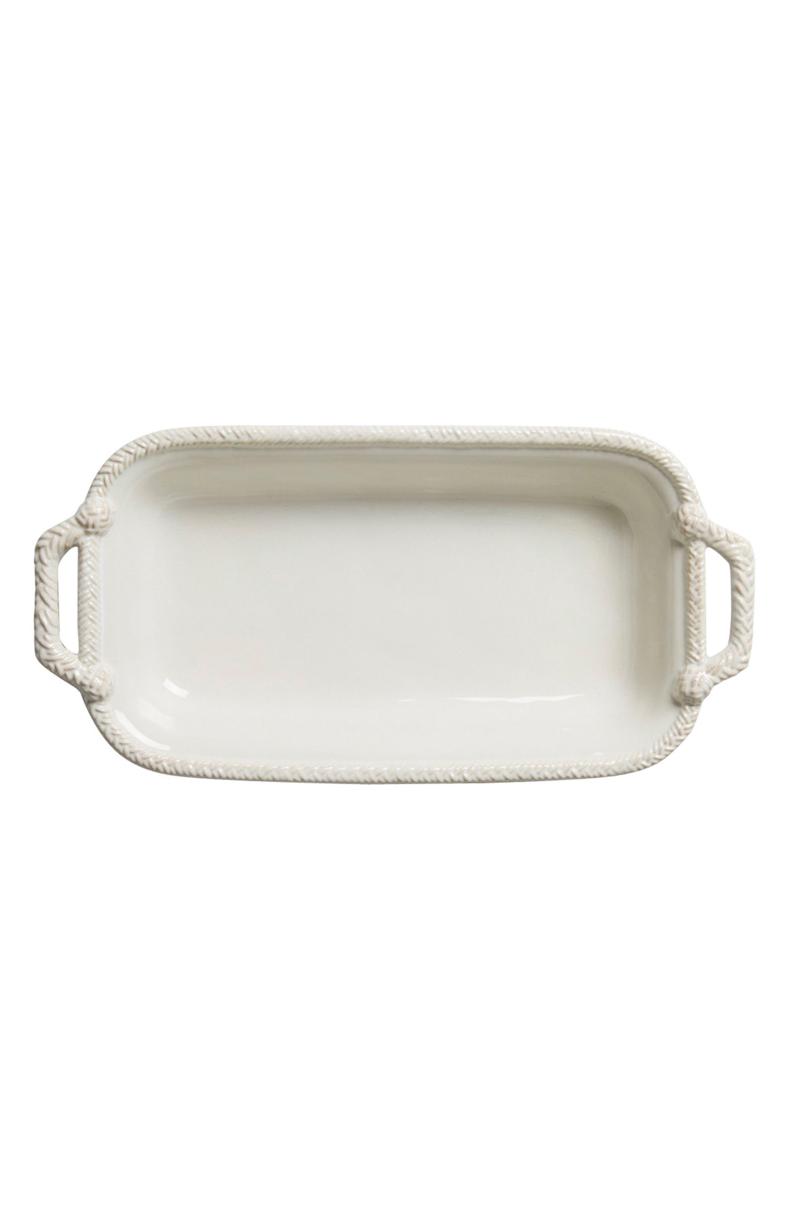 Le Panier 1.5-Quart Rectangular Baking Dish,                             Main thumbnail 1, color,                             Whitewash