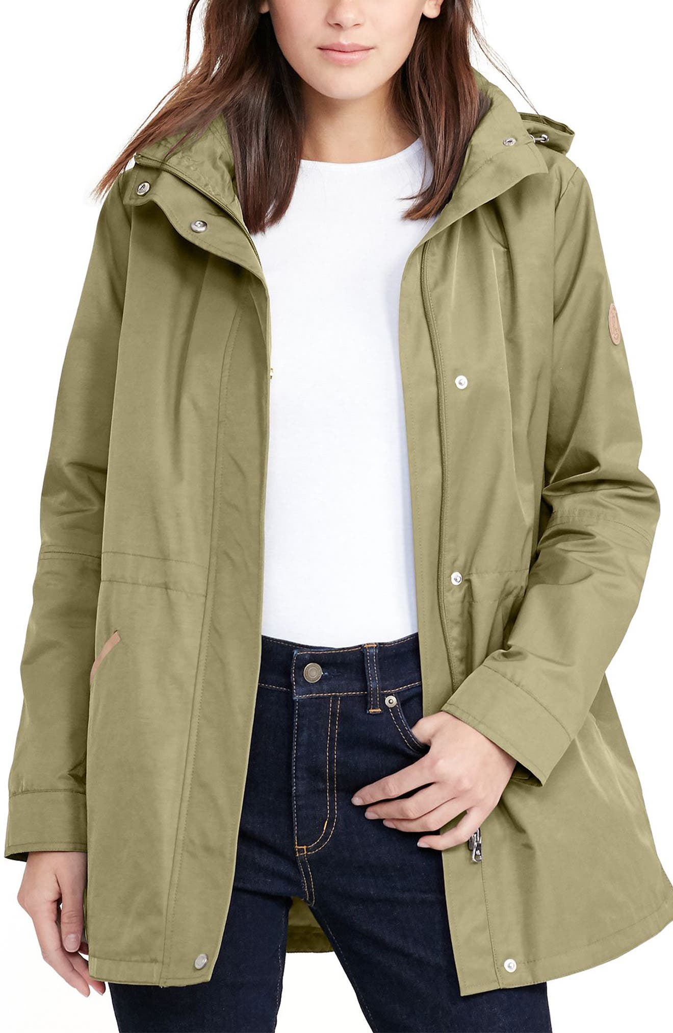 Ralph lauren green winter jacket