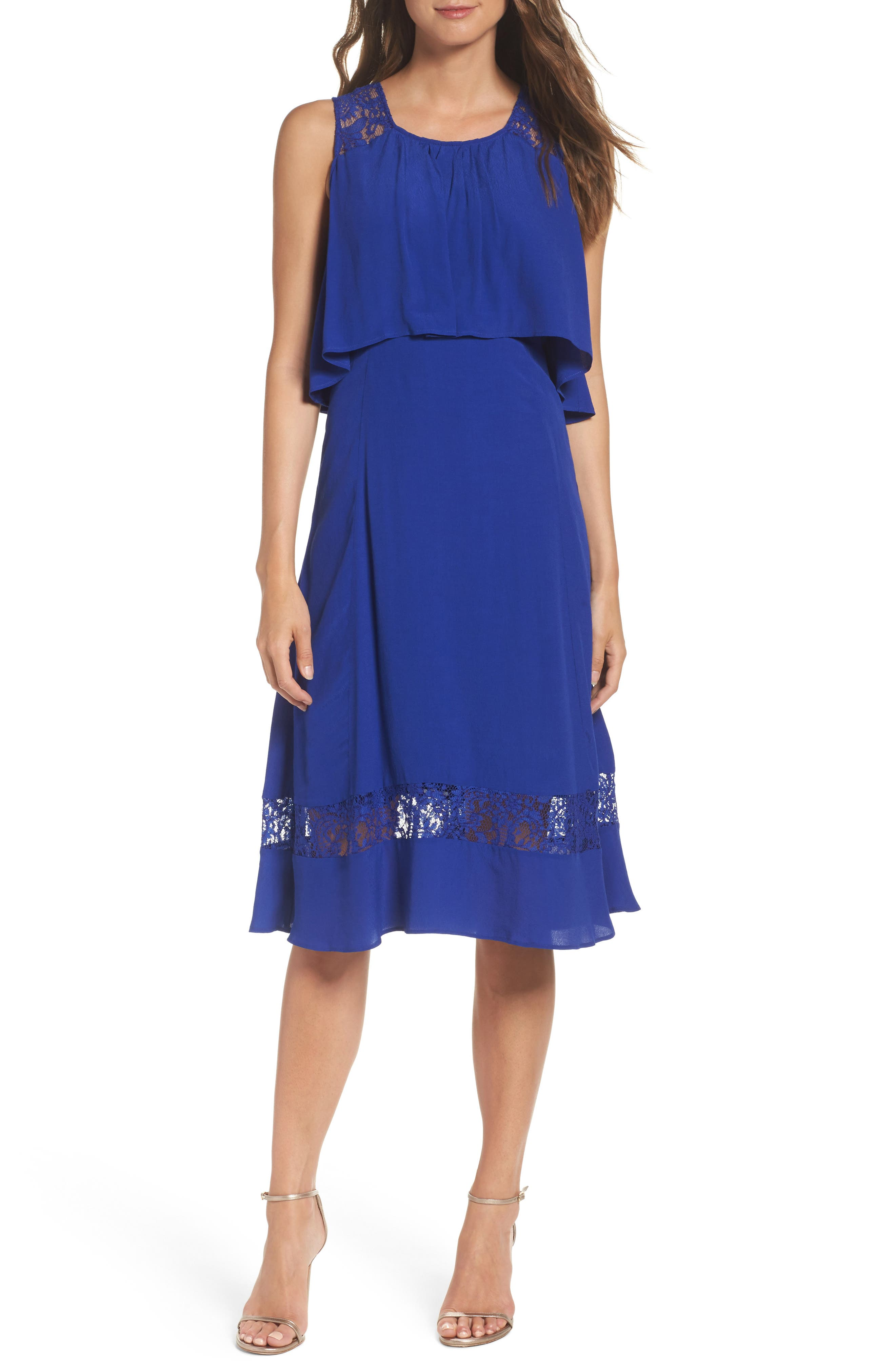 Alternate Image 1 Selected - BB Dakota Erin Popover Dress