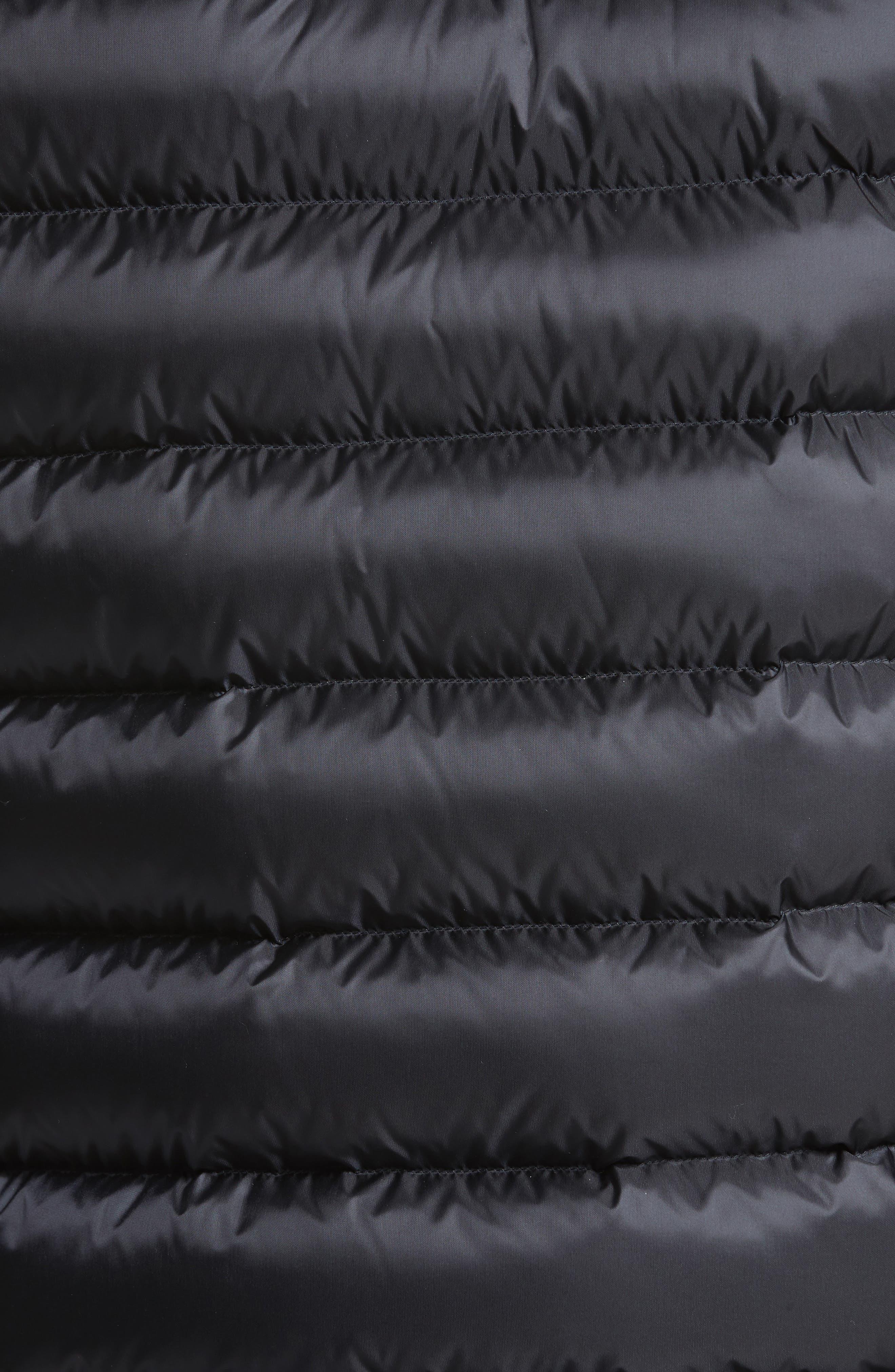 Valence Hooded Down Coat,                             Alternate thumbnail 5, color,                             Navy