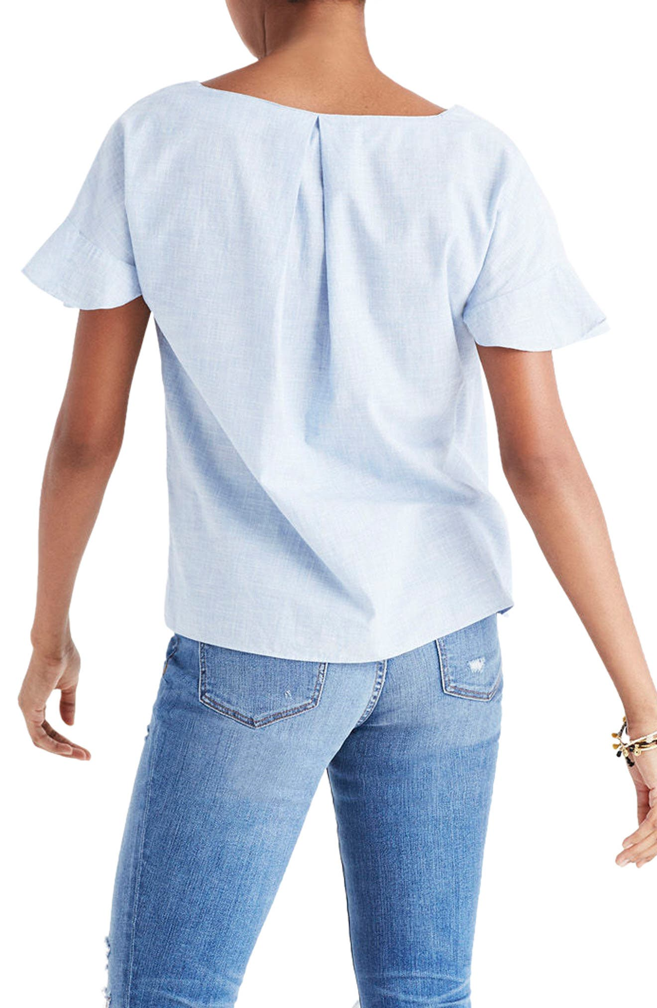 Alternate Image 2  - Madewell Sundrift Ruffle Top