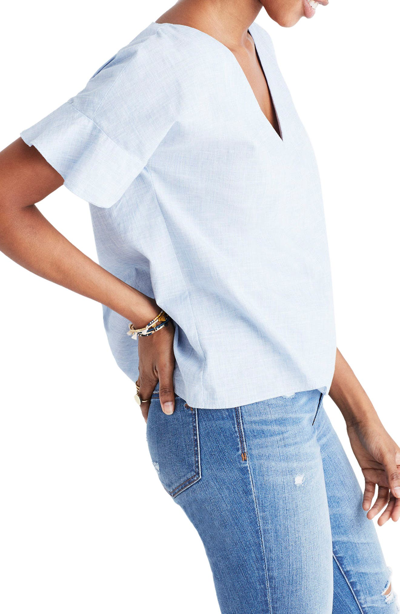 Alternate Image 3  - Madewell Sundrift Ruffle Top