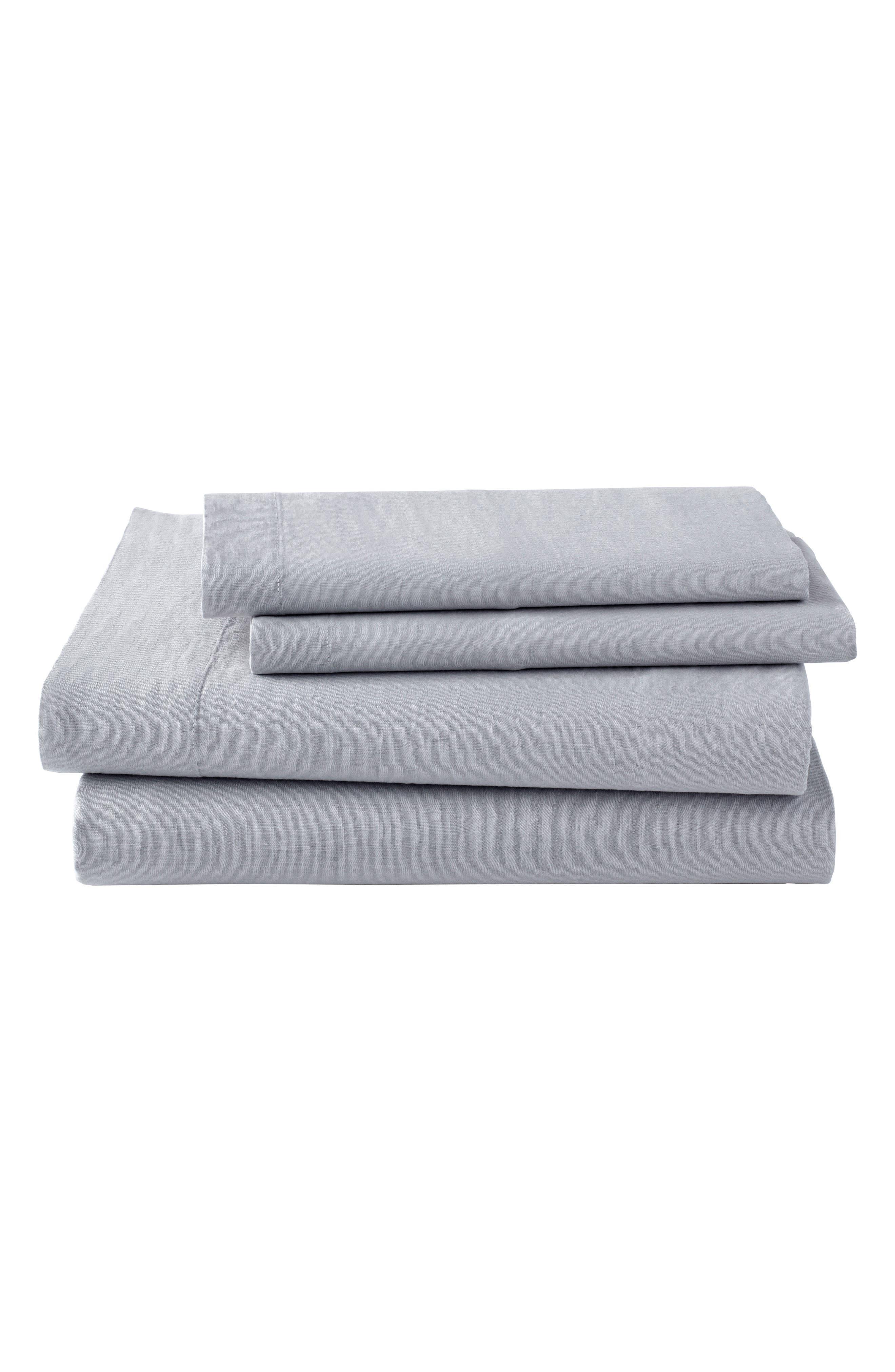 Main Image - KASSATEX Lino Linen 300 Thread Count Pillowcase