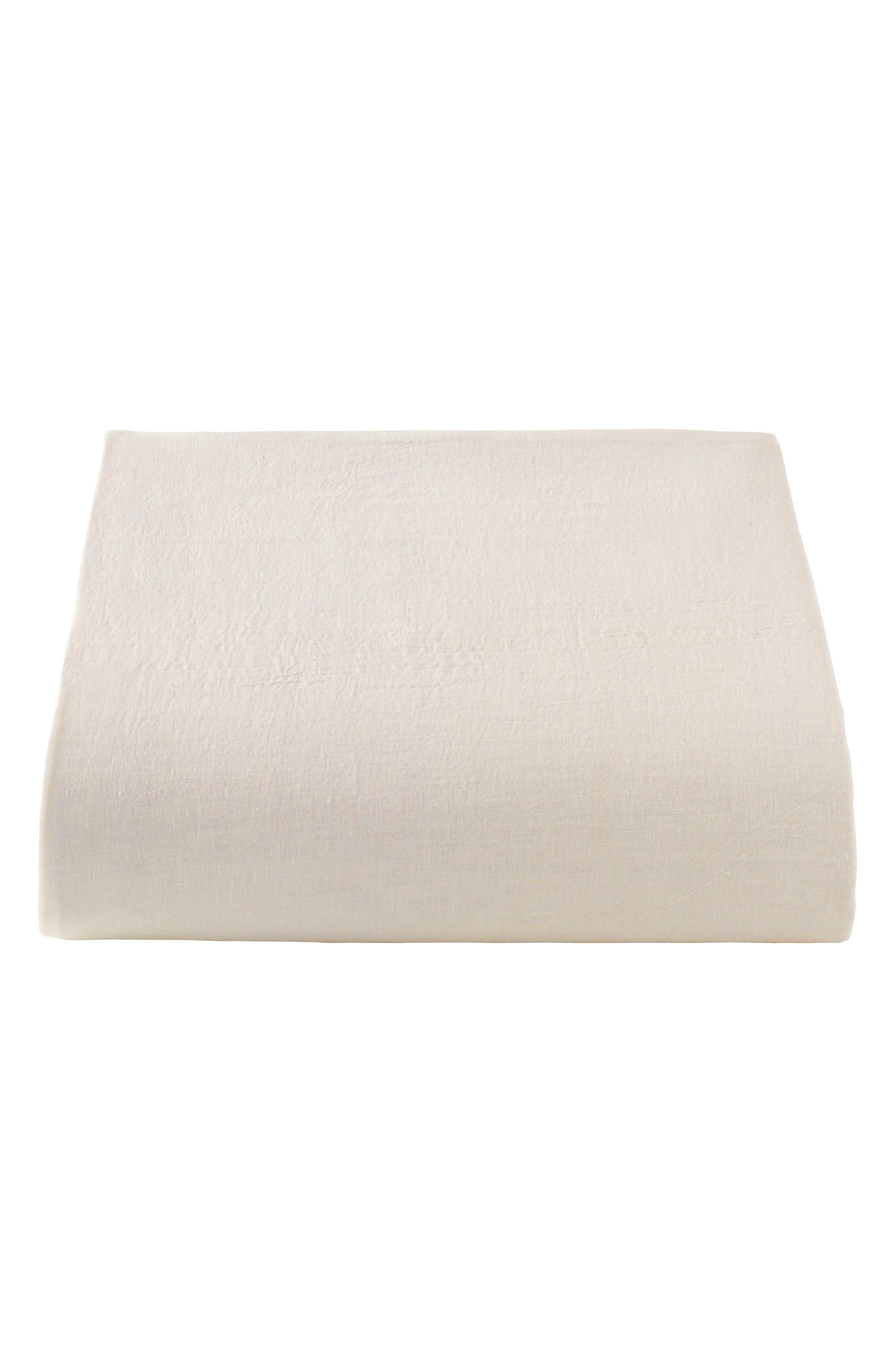 Lino Linen Duvet Cover,                             Alternate thumbnail 2, color,                             Linen