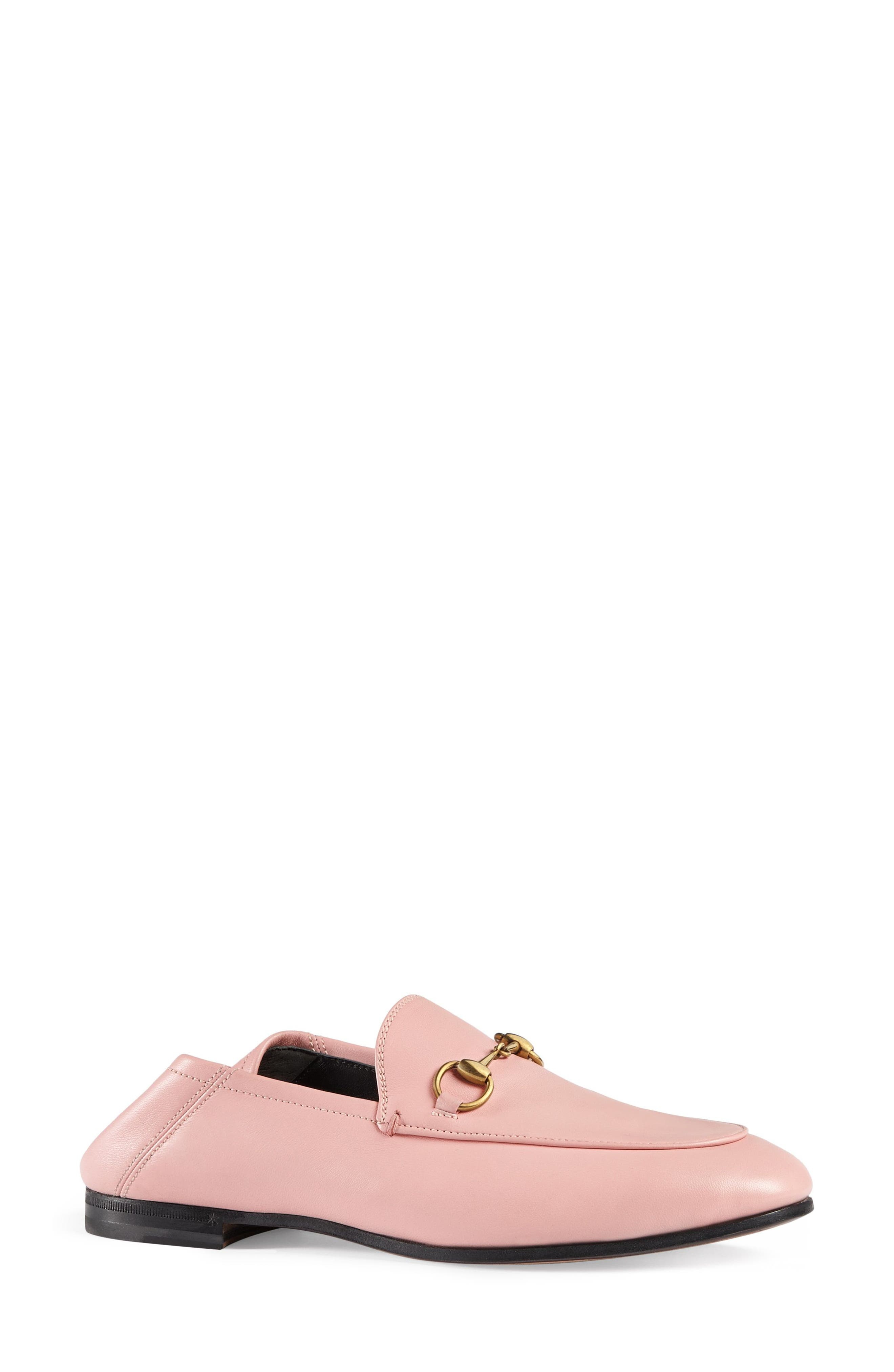 Brixton Convertible Loafer,                             Main thumbnail 1, color,                             Light Pink Leather