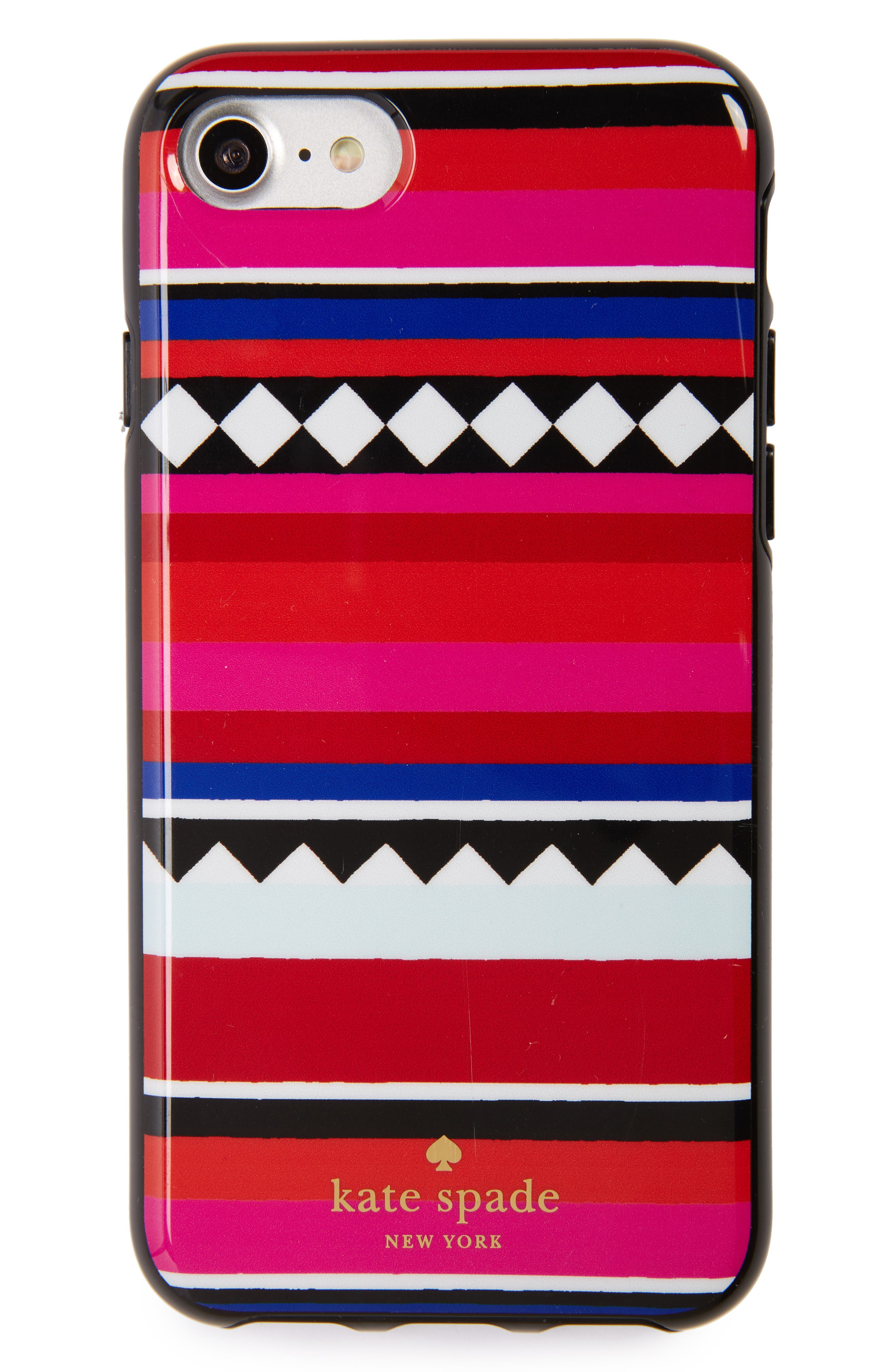 KATE SPADE NEW YORK geo stripe iPhone 7 & 7 Plus case