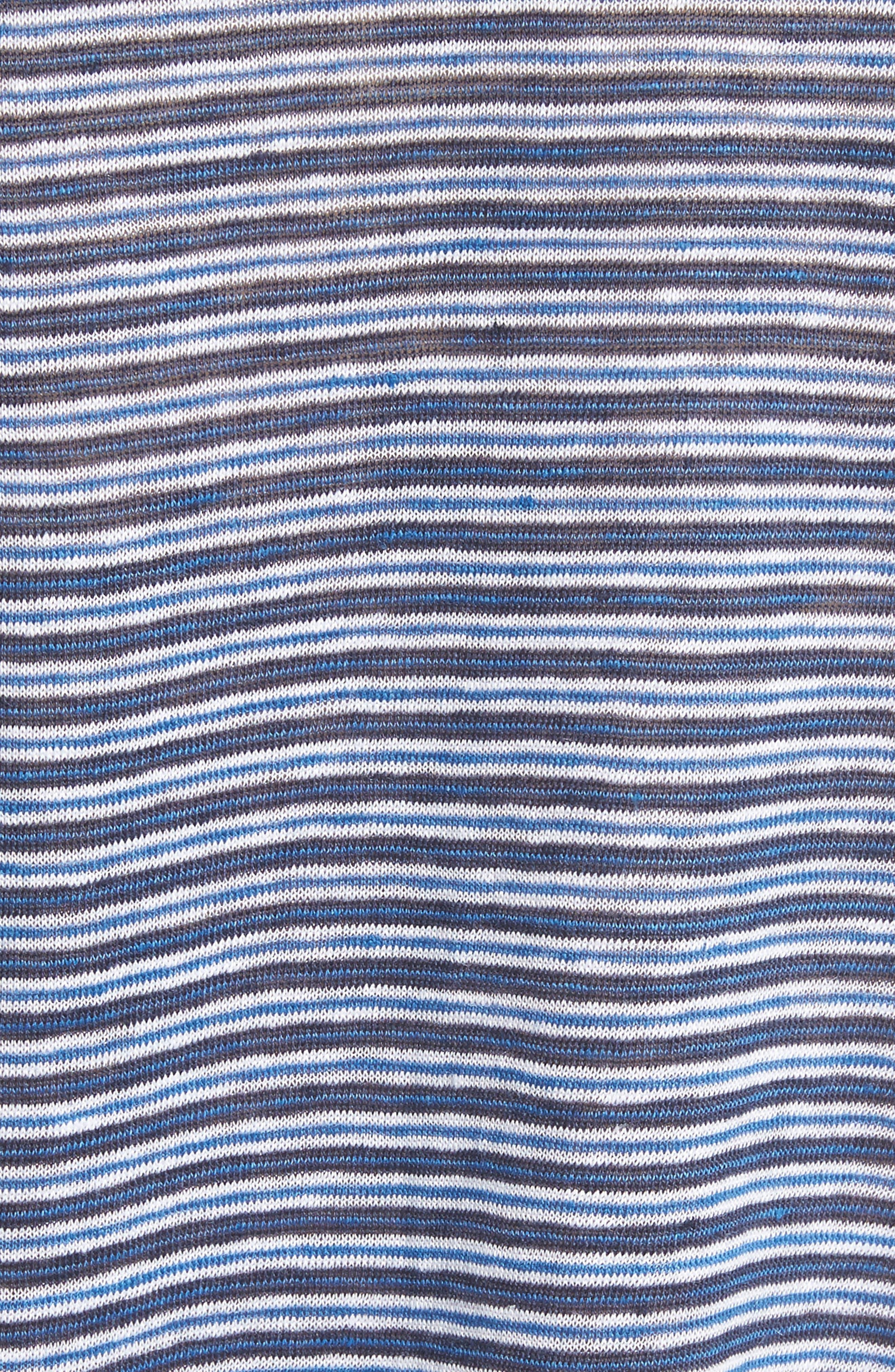 Alternate Image 5  - Joie Faya Stripe Linen Sweater