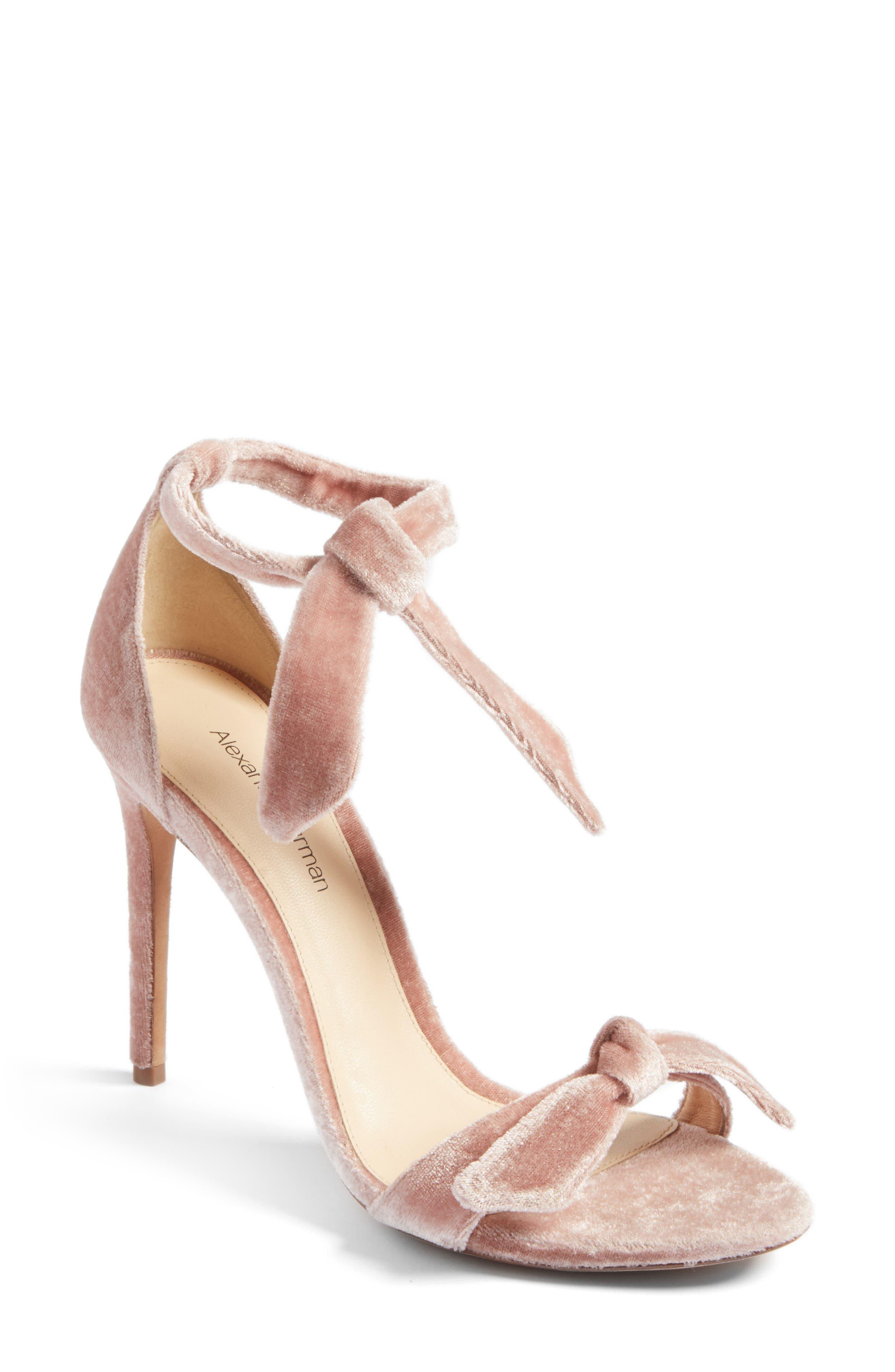 Clarita Sandal,                         Main,                         color, Blush Velvet
