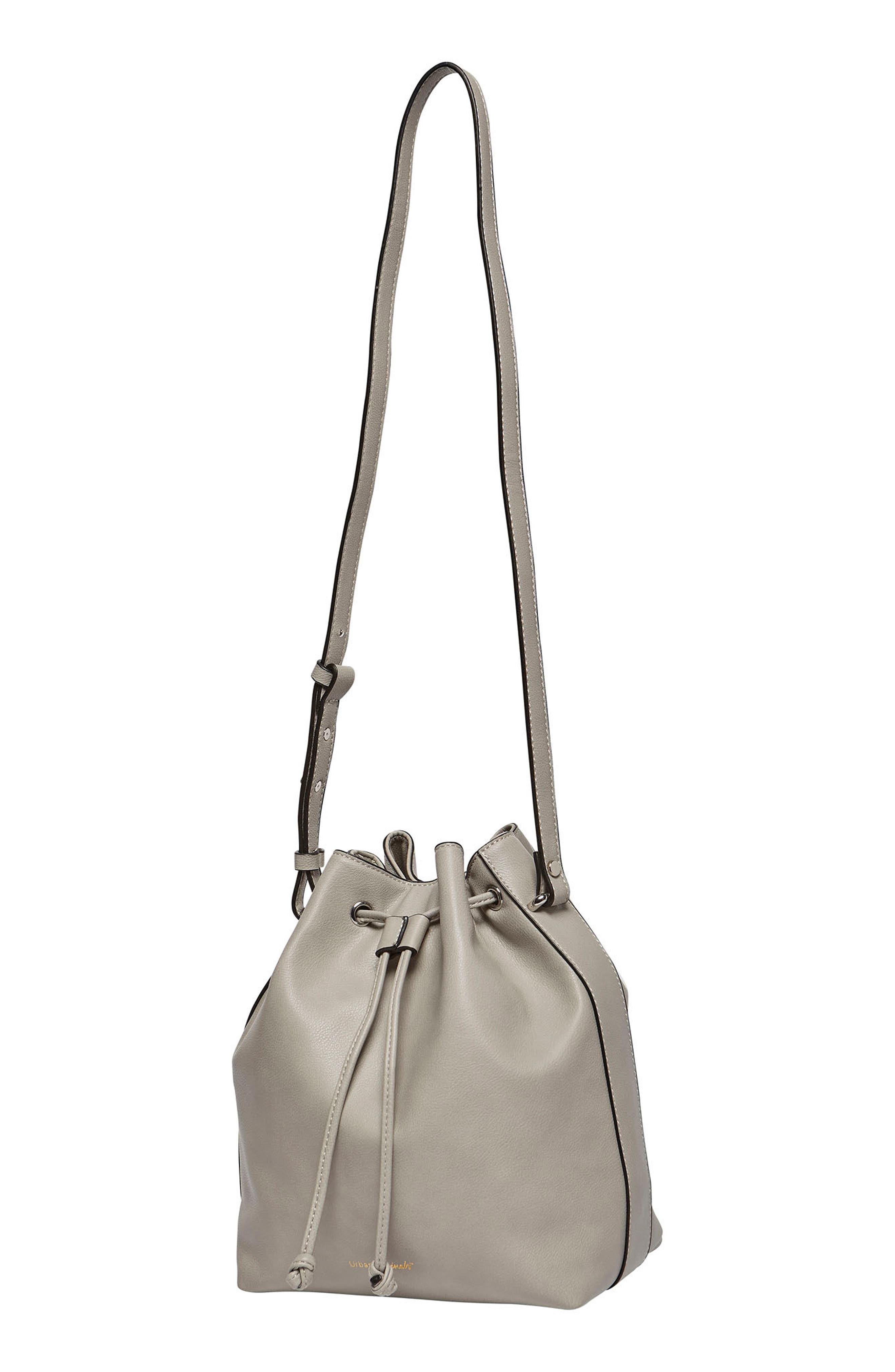 Take Me Home Vegan Leather Bag,                             Alternate thumbnail 2, color,                             Grey Battleship
