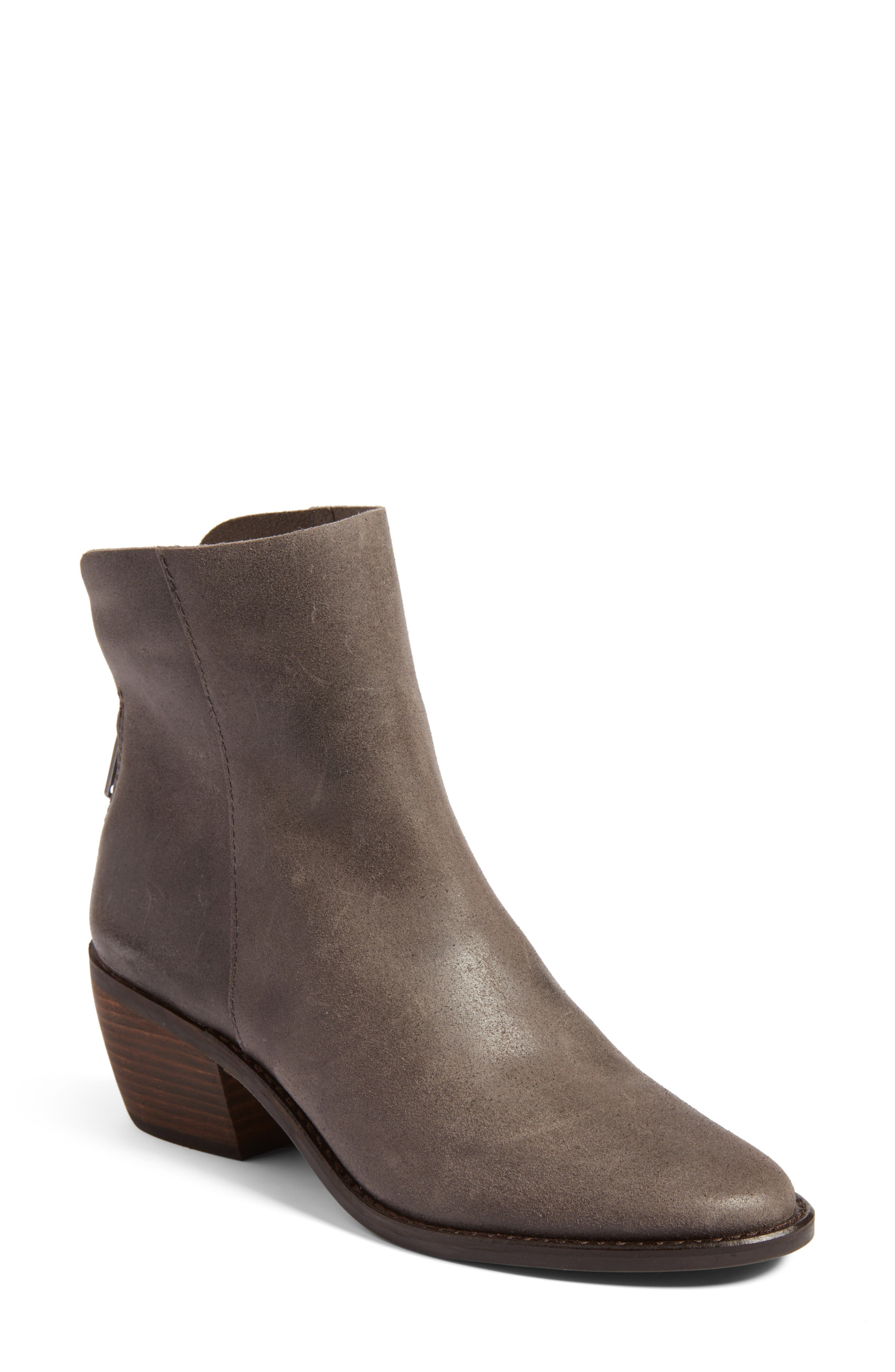 Alternate Image 1 Selected - Lucky Brand Kaiya Pointy Toe Bootie (Women)