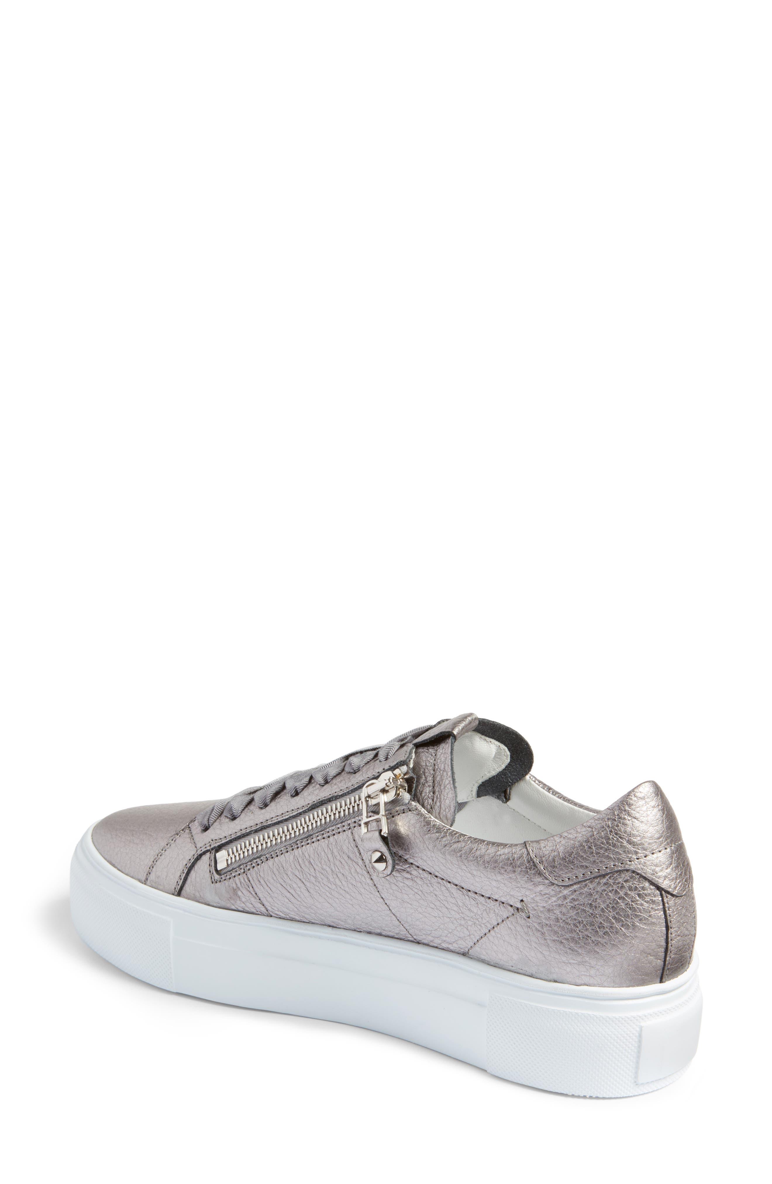 Alternate Image 2  - Kennel & Schmenger Big Low Top Platform Sneaker (Women)