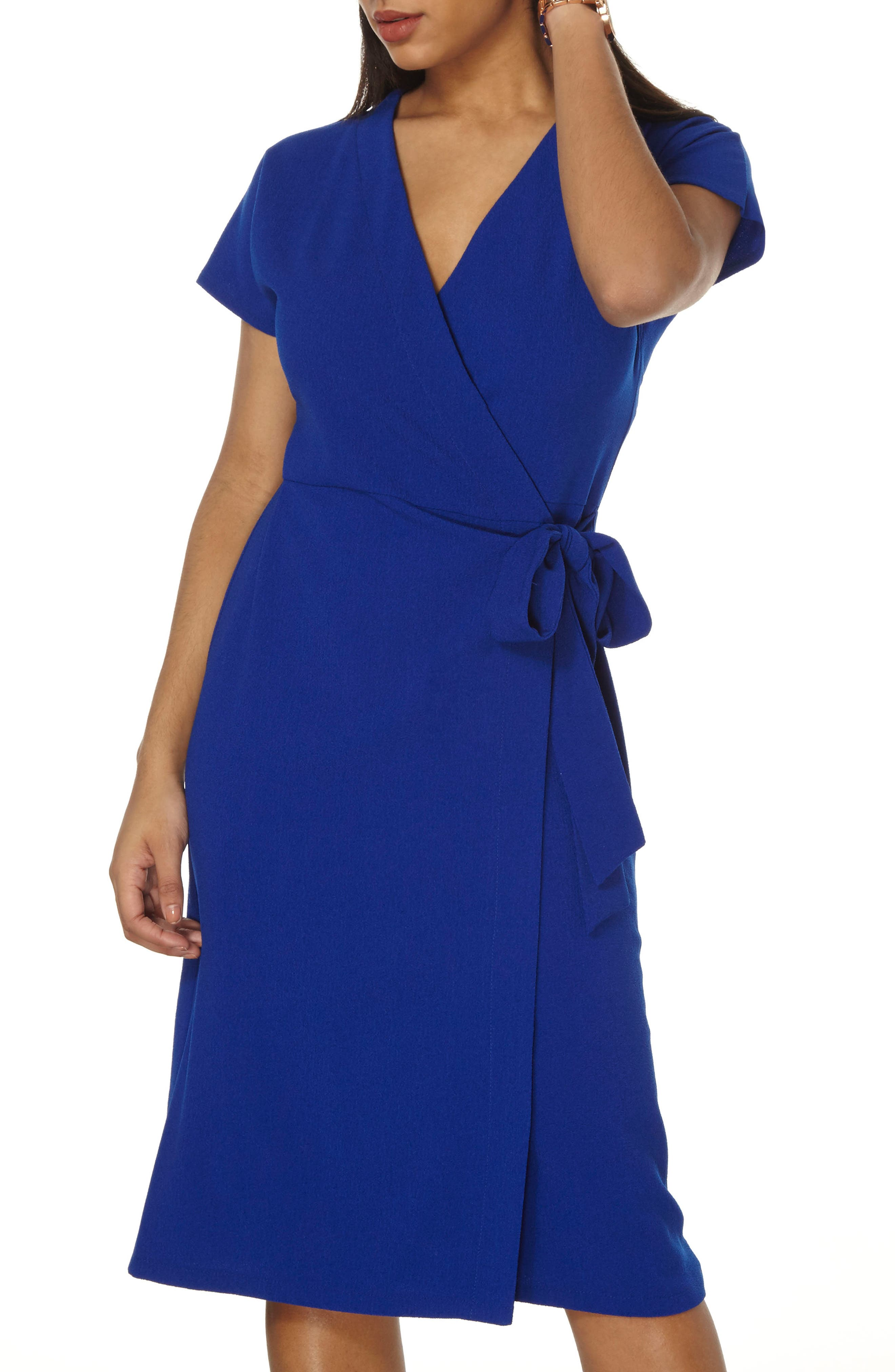 Main Image - Dorothy Perkins Wrap Midi Dress