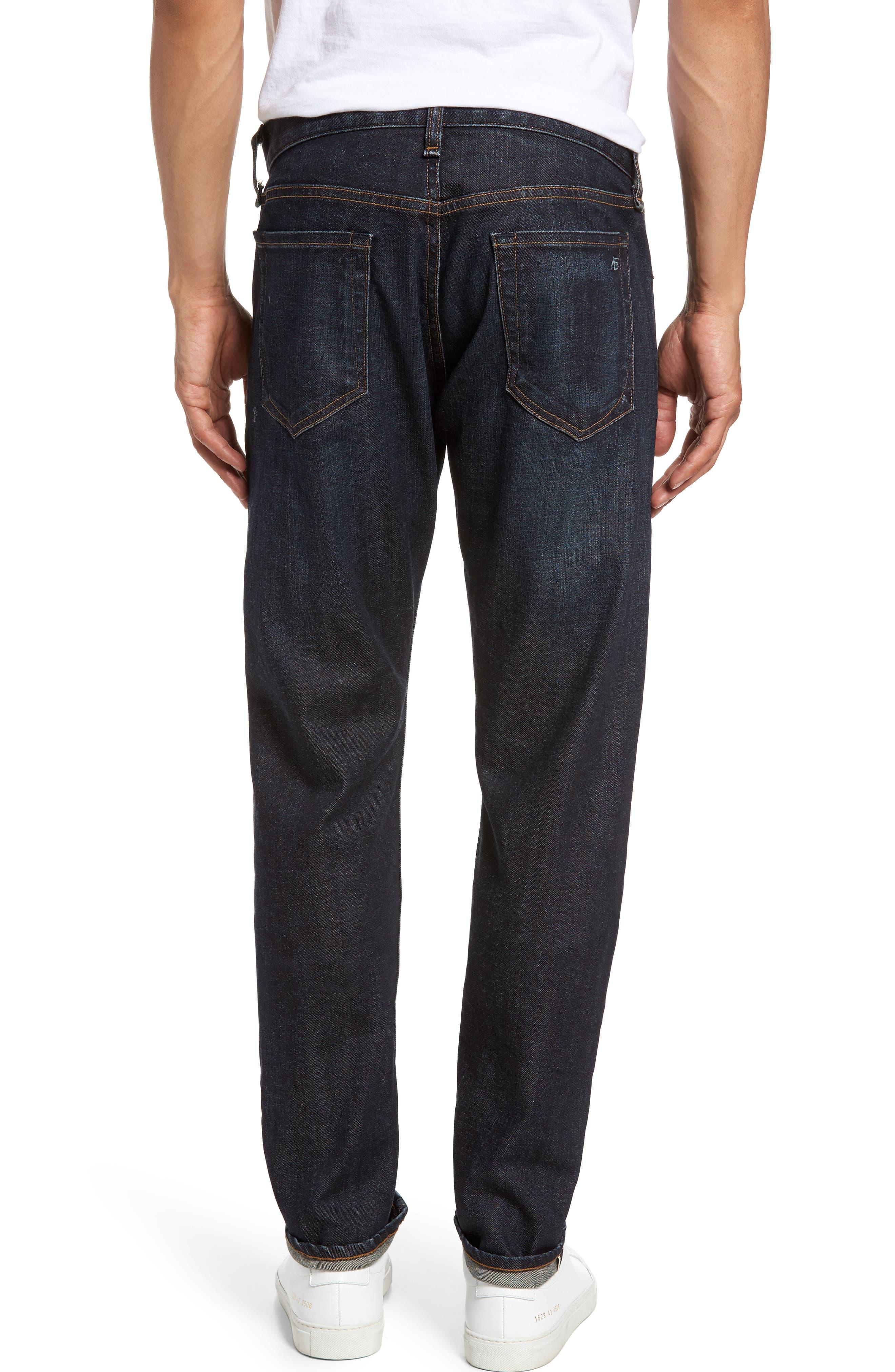 Alternate Image 2  - rag & bone Fit 2 Slim Fit Selvedge Jeans (Tempest)