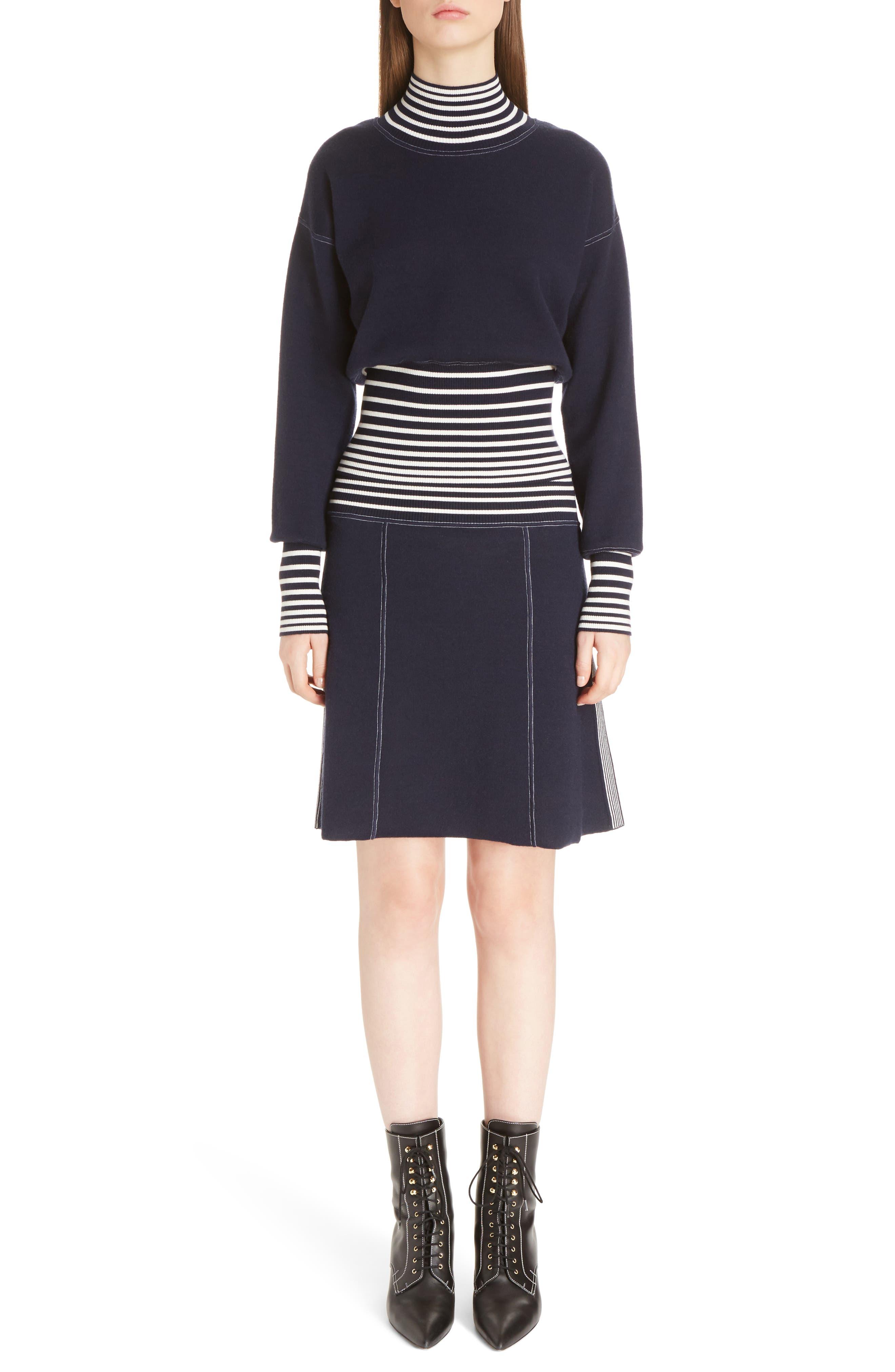 Alternate Image 6  - Loewe Stripe Knit Turtleneck