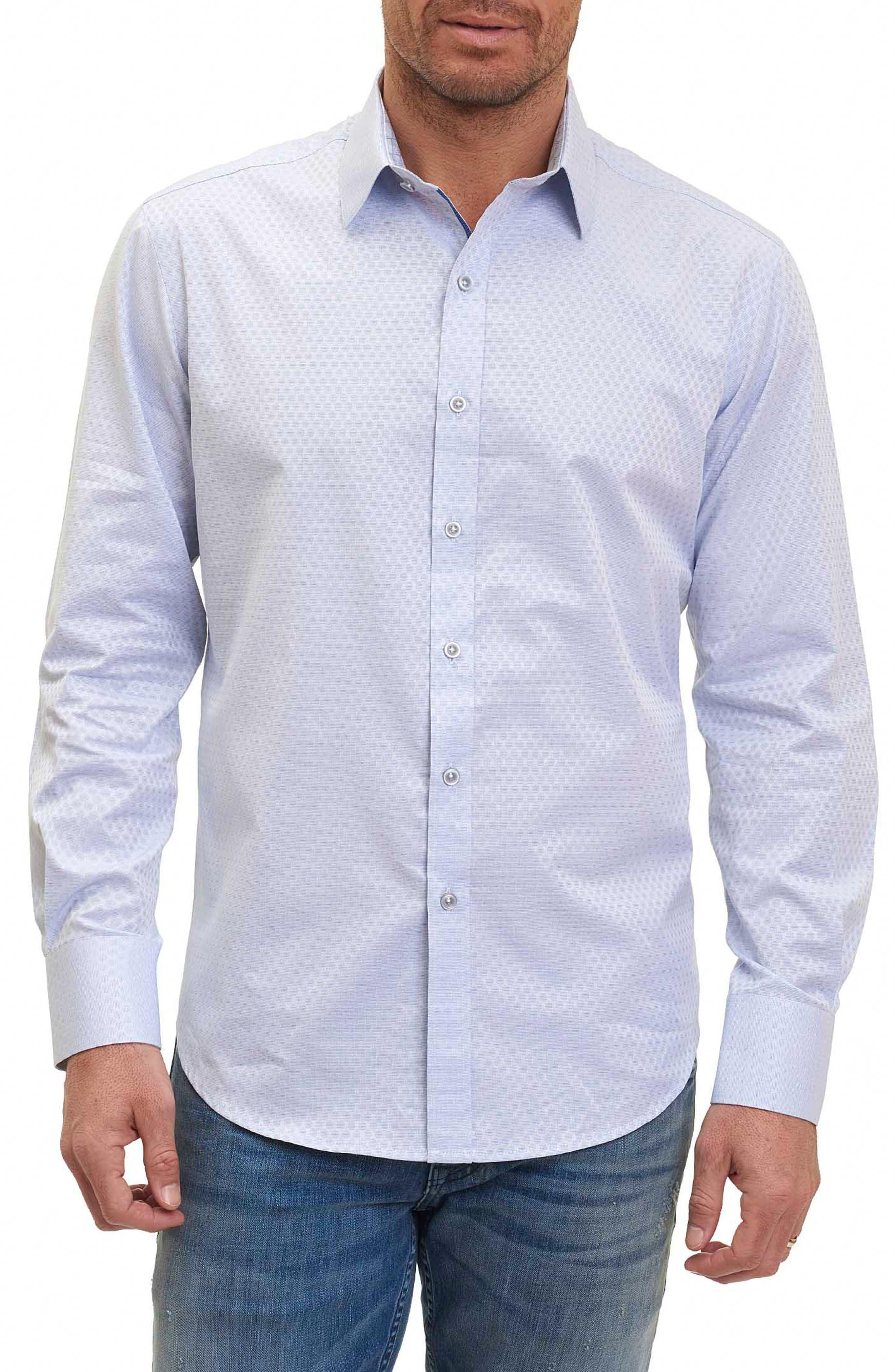 Alternate Image 1 Selected - Robert Graham Classic Fit Print Sport Shirt