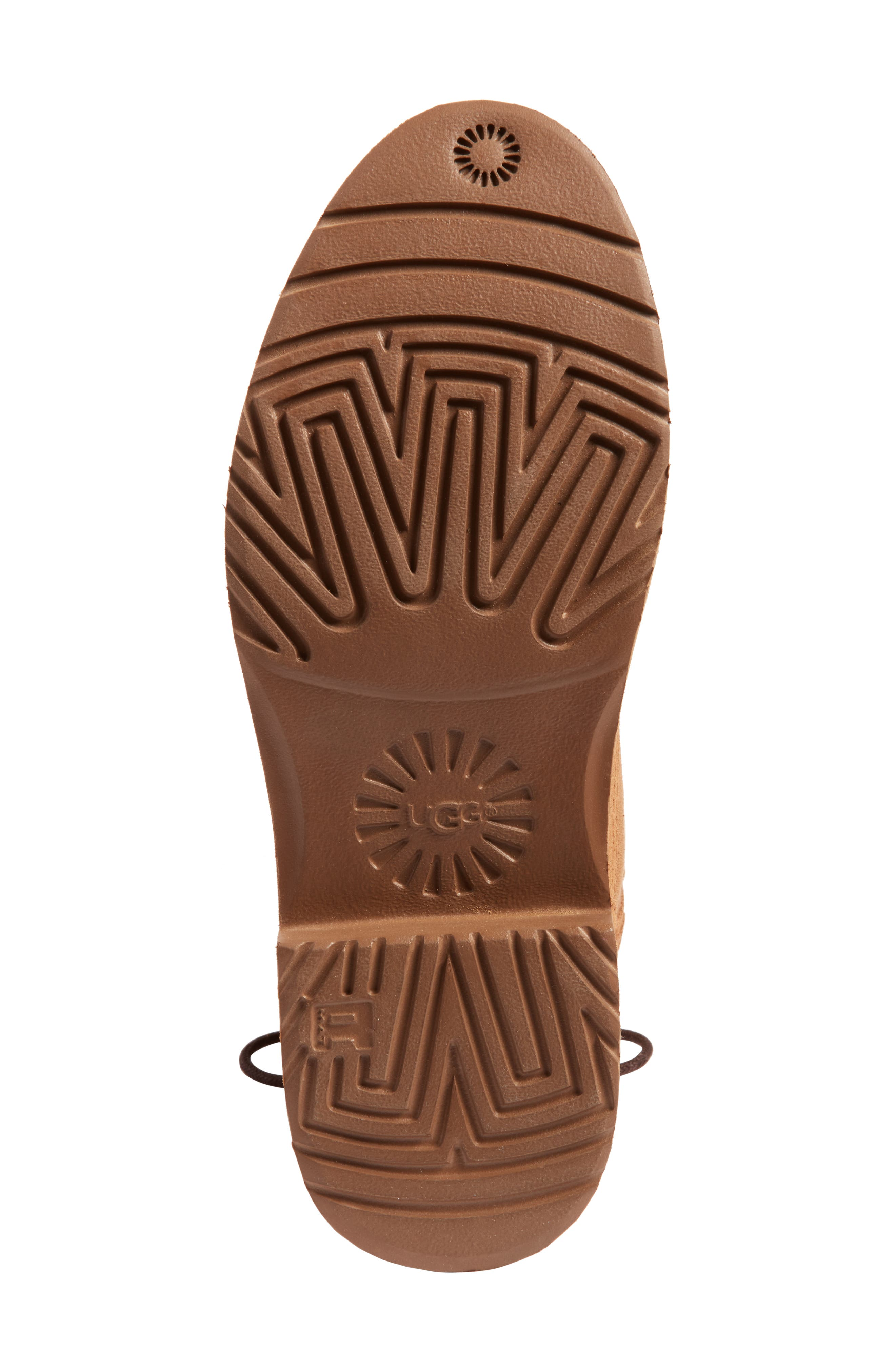 Alternate Image 5  - UGG® Naiyah Lace-Back Genuine Shearling Boot (Women)