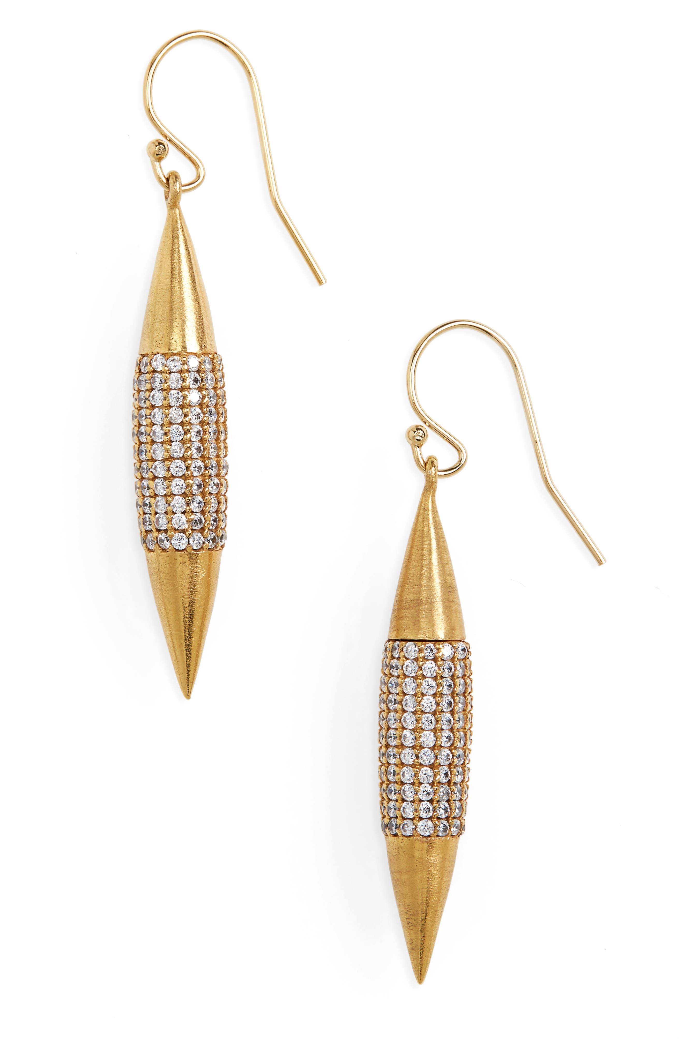DEAN DAVIDSON Marquise Drop Earrings