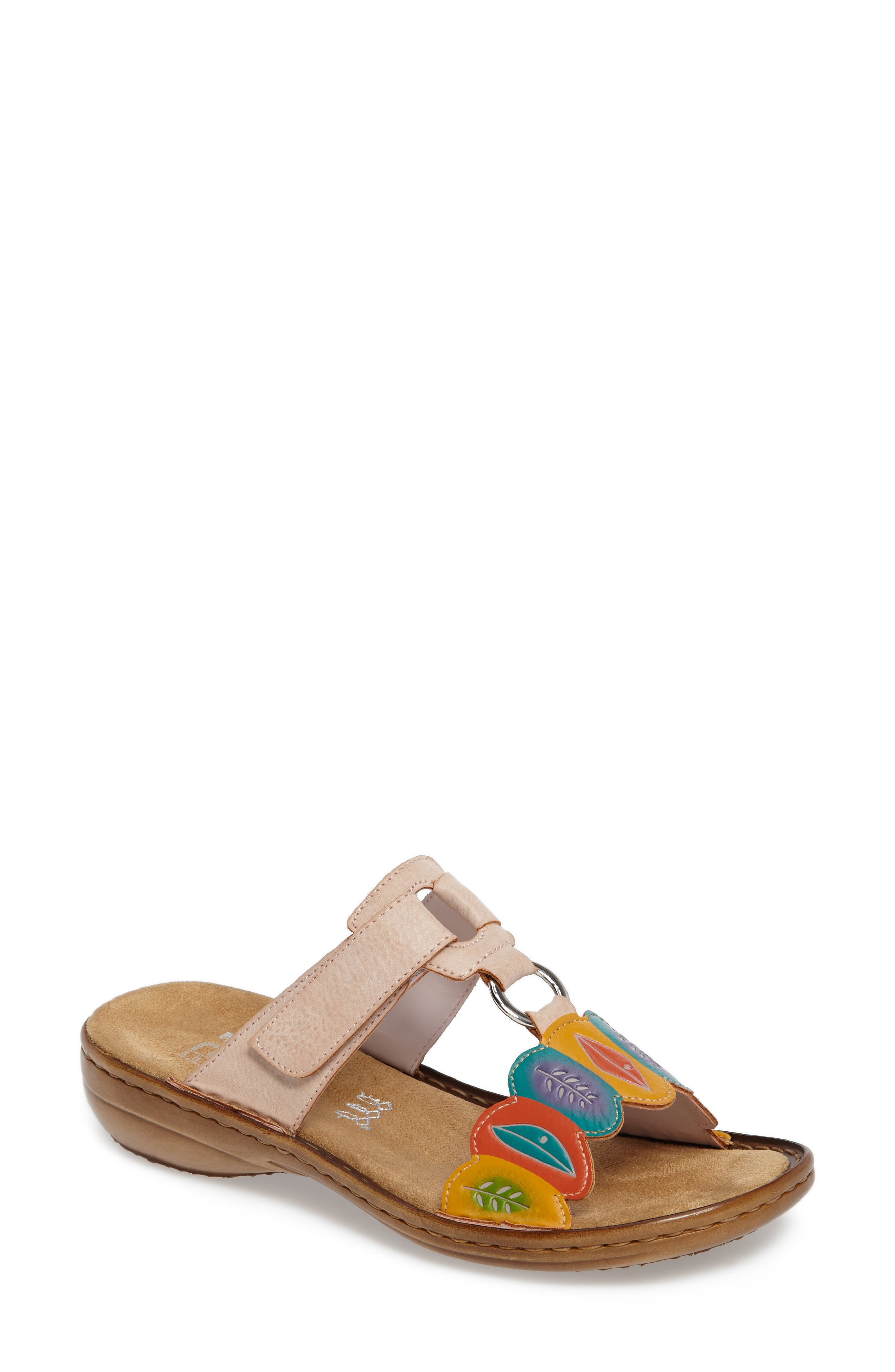 Alternate Image 1 Selected - Rieker Antistress Regina R4 Slide Sandal (Women)
