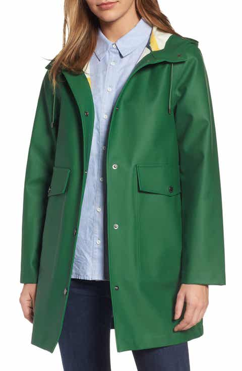 Women's Green Rain Coats & Jackets | Nordstrom