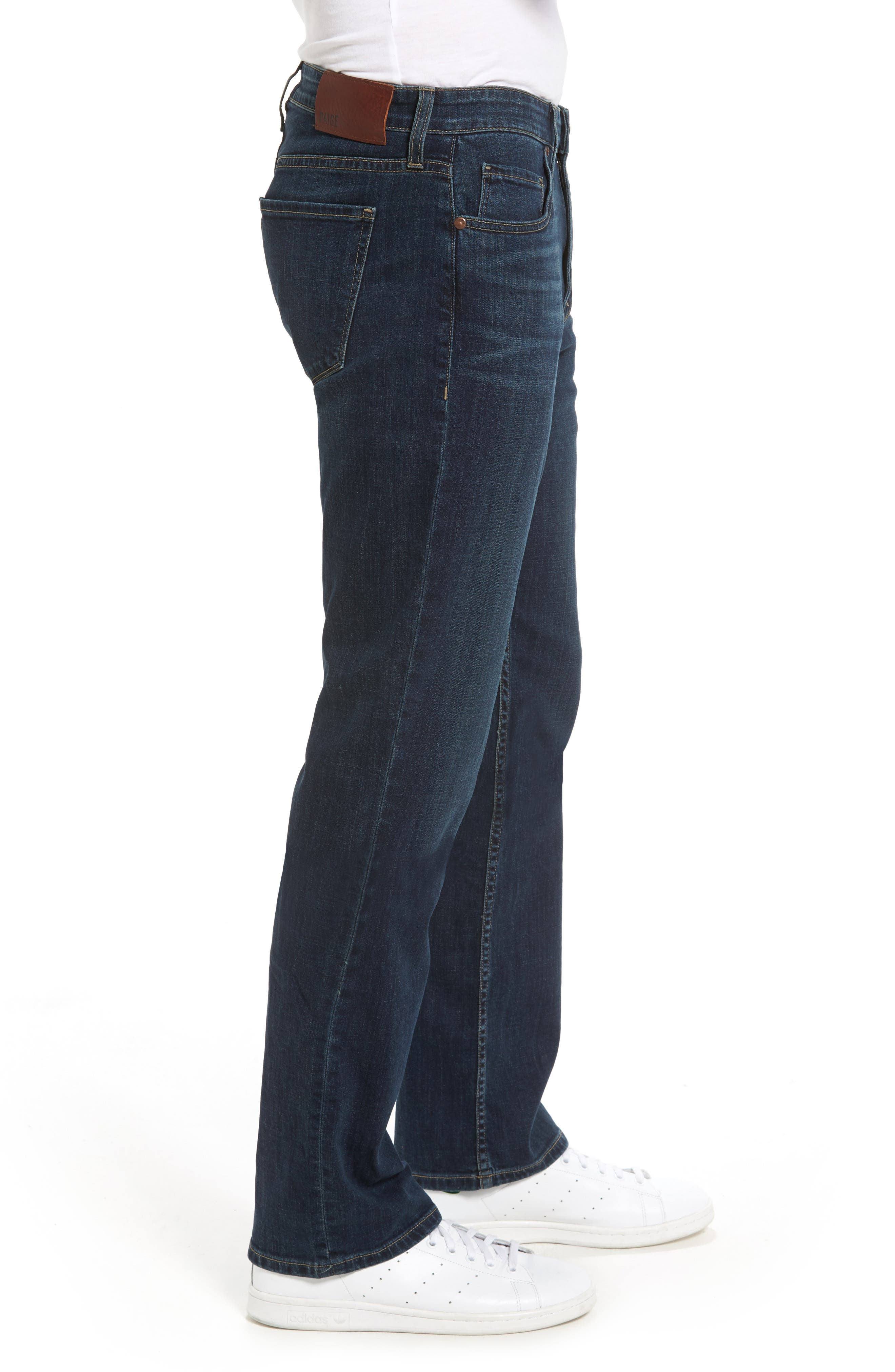 Doheny Relaxed Fit Jeans,                             Alternate thumbnail 3, color,                             Knowle