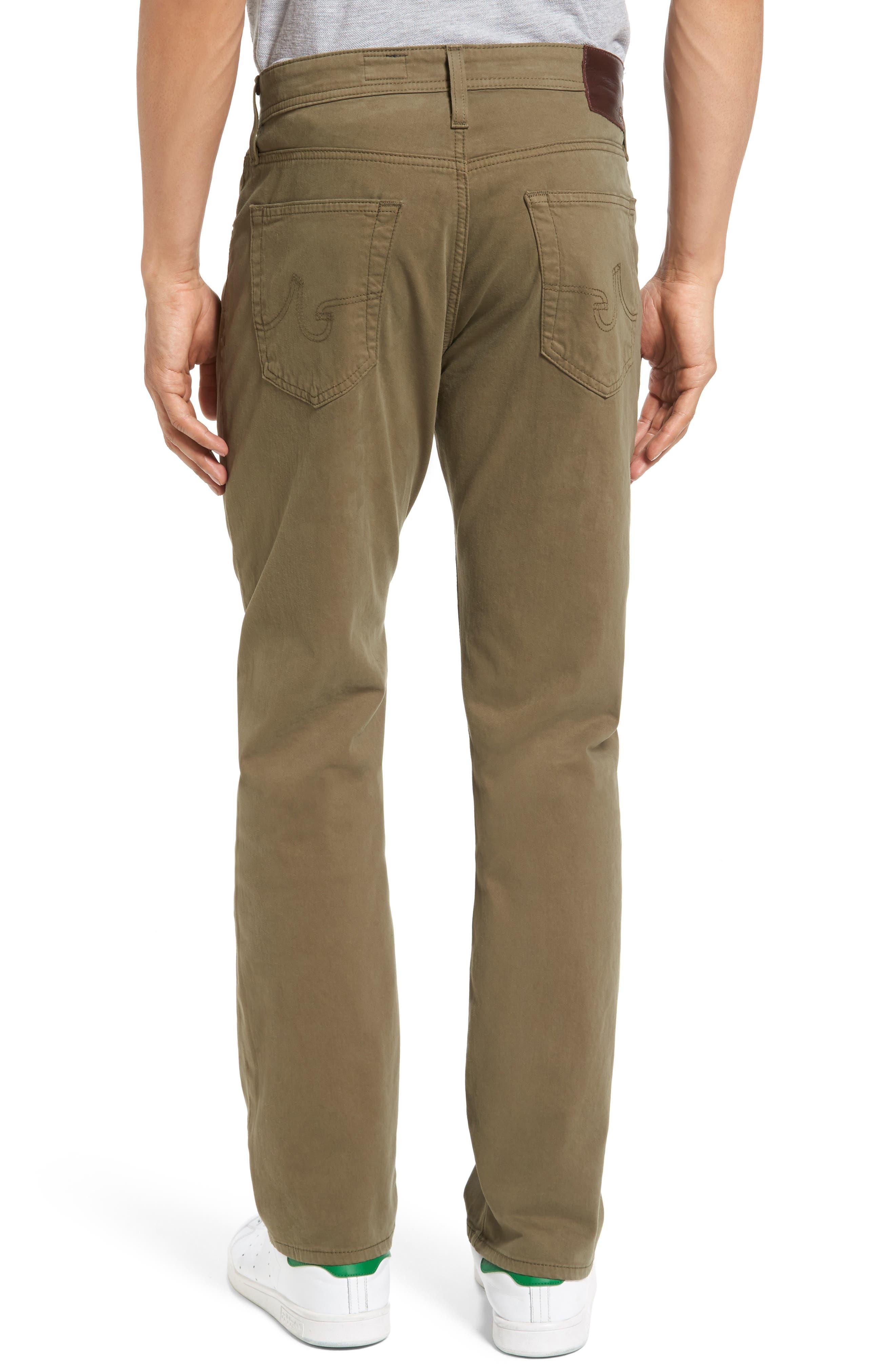 Graduate SUD Slim Straight Leg Pants,                             Alternate thumbnail 2, color,                             Caper Leaf