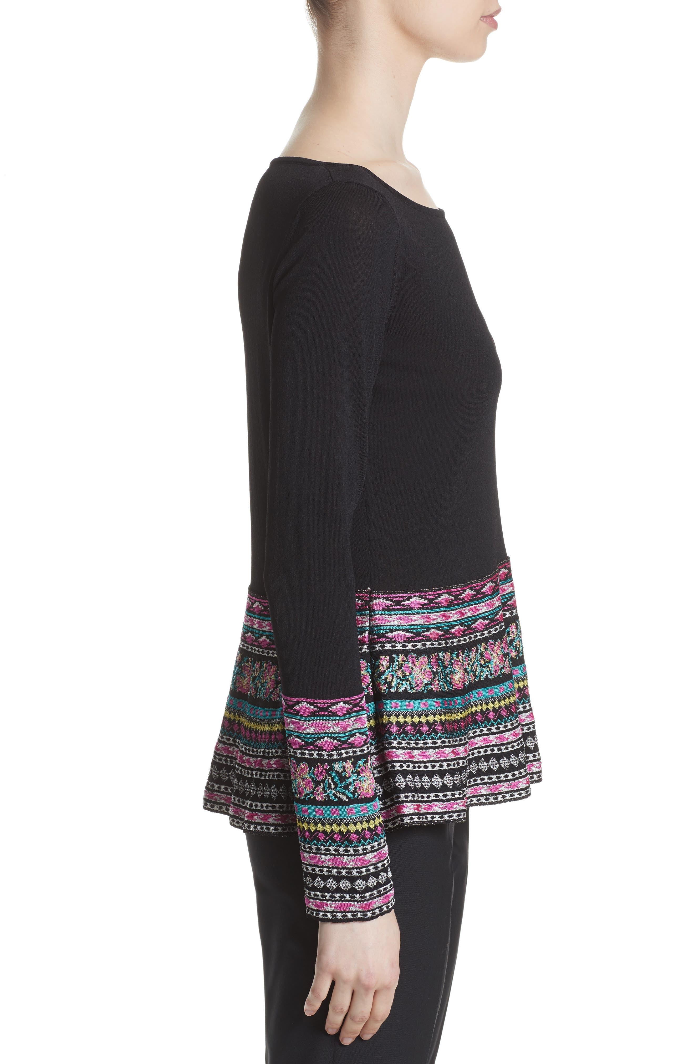 Alternate Image 4  - Etro Peplum Sweater