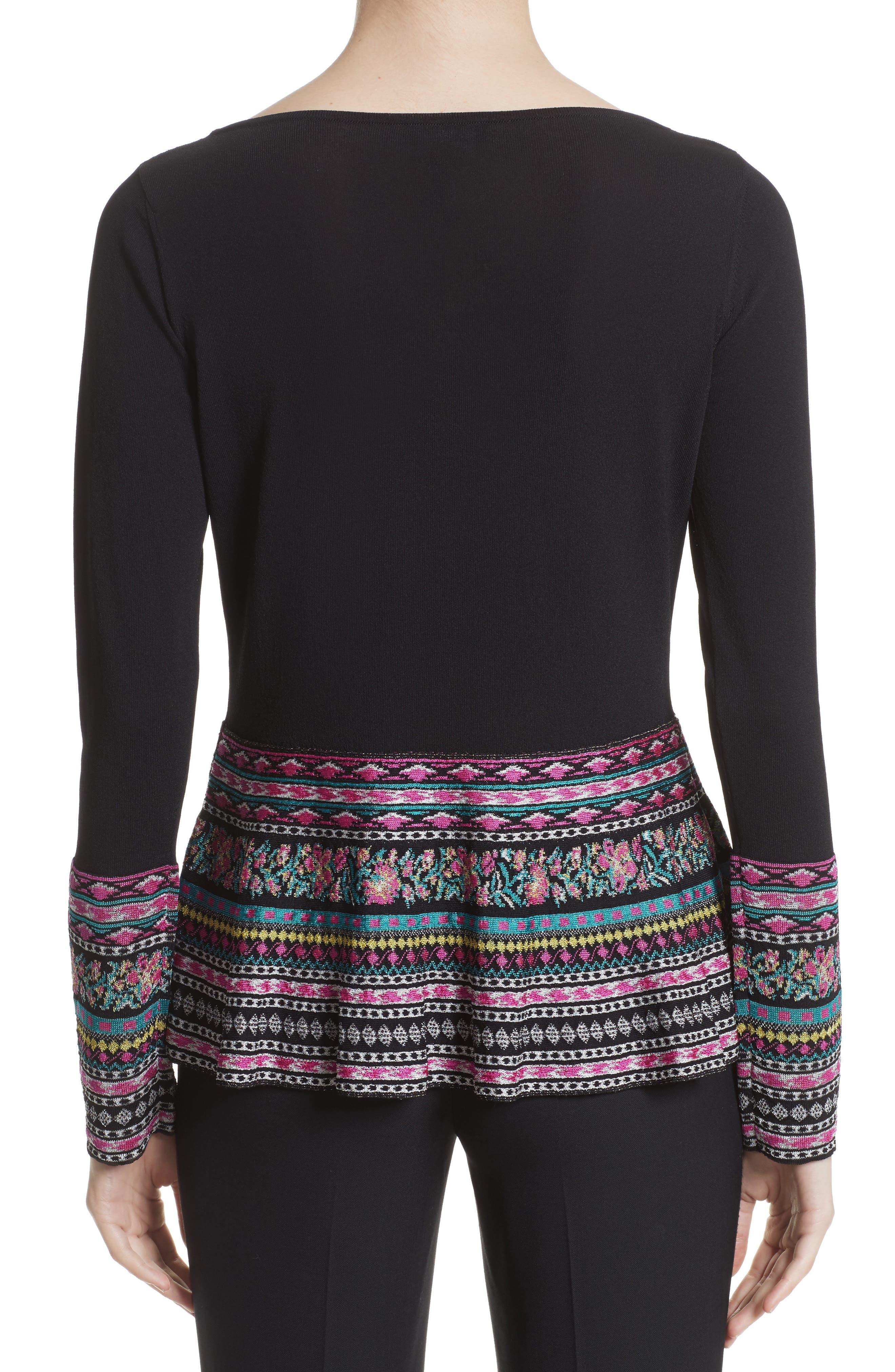 Alternate Image 2  - Etro Peplum Sweater